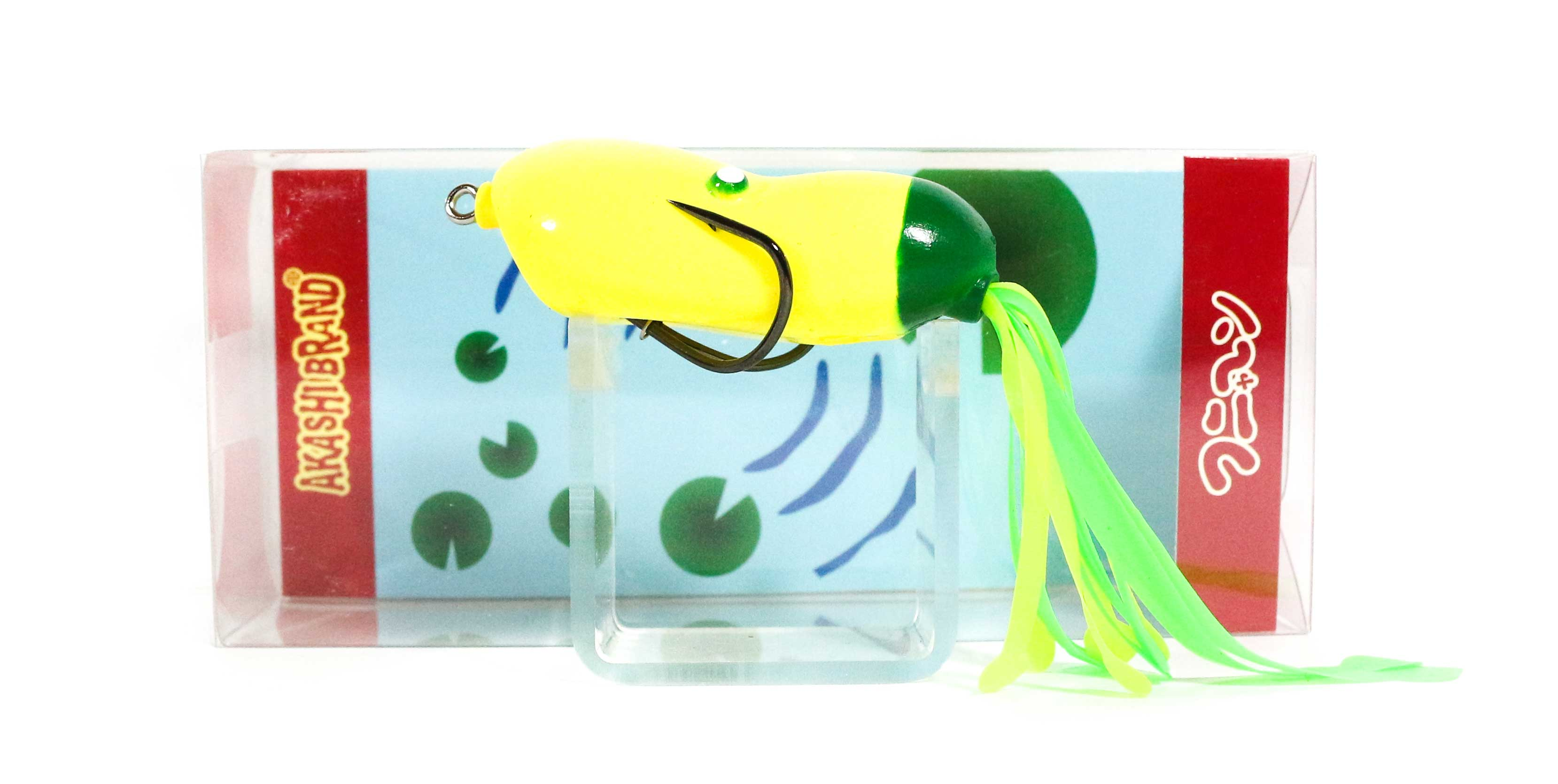 Sale Akashi Funyan 15 grams Frog Soft Plastic Floating Lure 021 (0391)