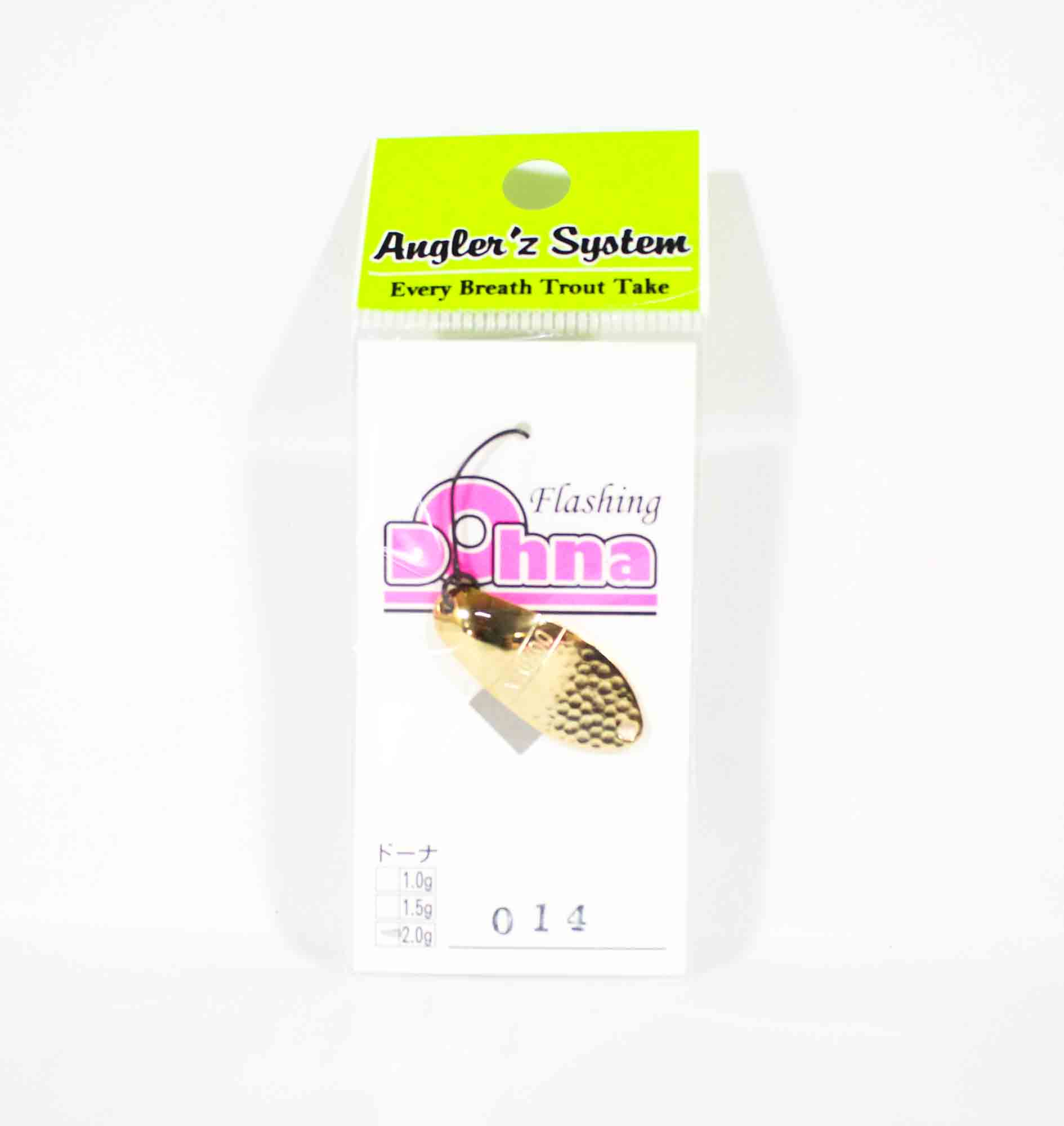 Anglers System Antem Dohna 2.0 grams Spoon Sinking Lure 014 (4589)