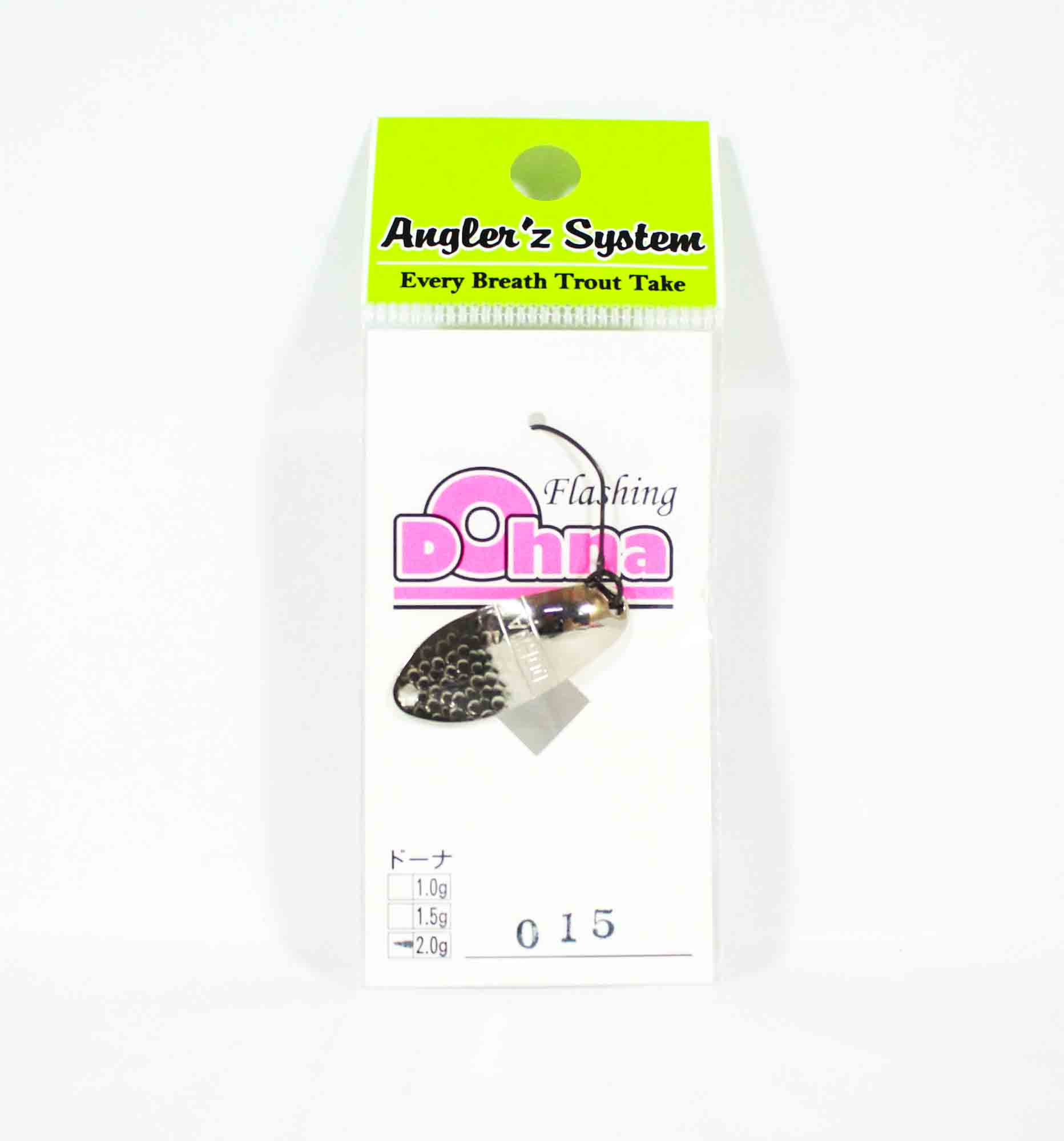 Anglers System Antem Dohna 2.0 grams Spoon Sinking Lure 015 (4596)