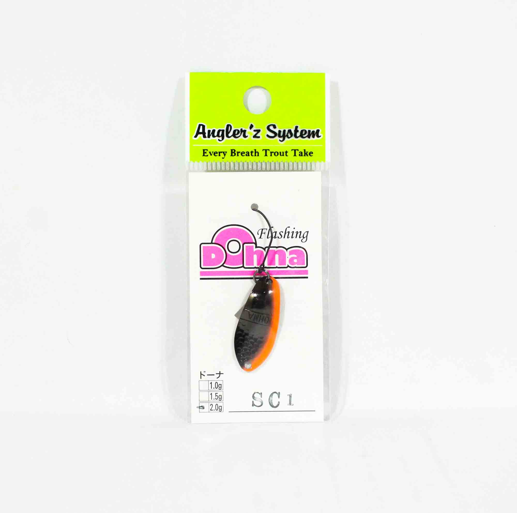 Anglers System Antem Dohna 2.0 grams Spoon Sinking Lure SC1 (2217)
