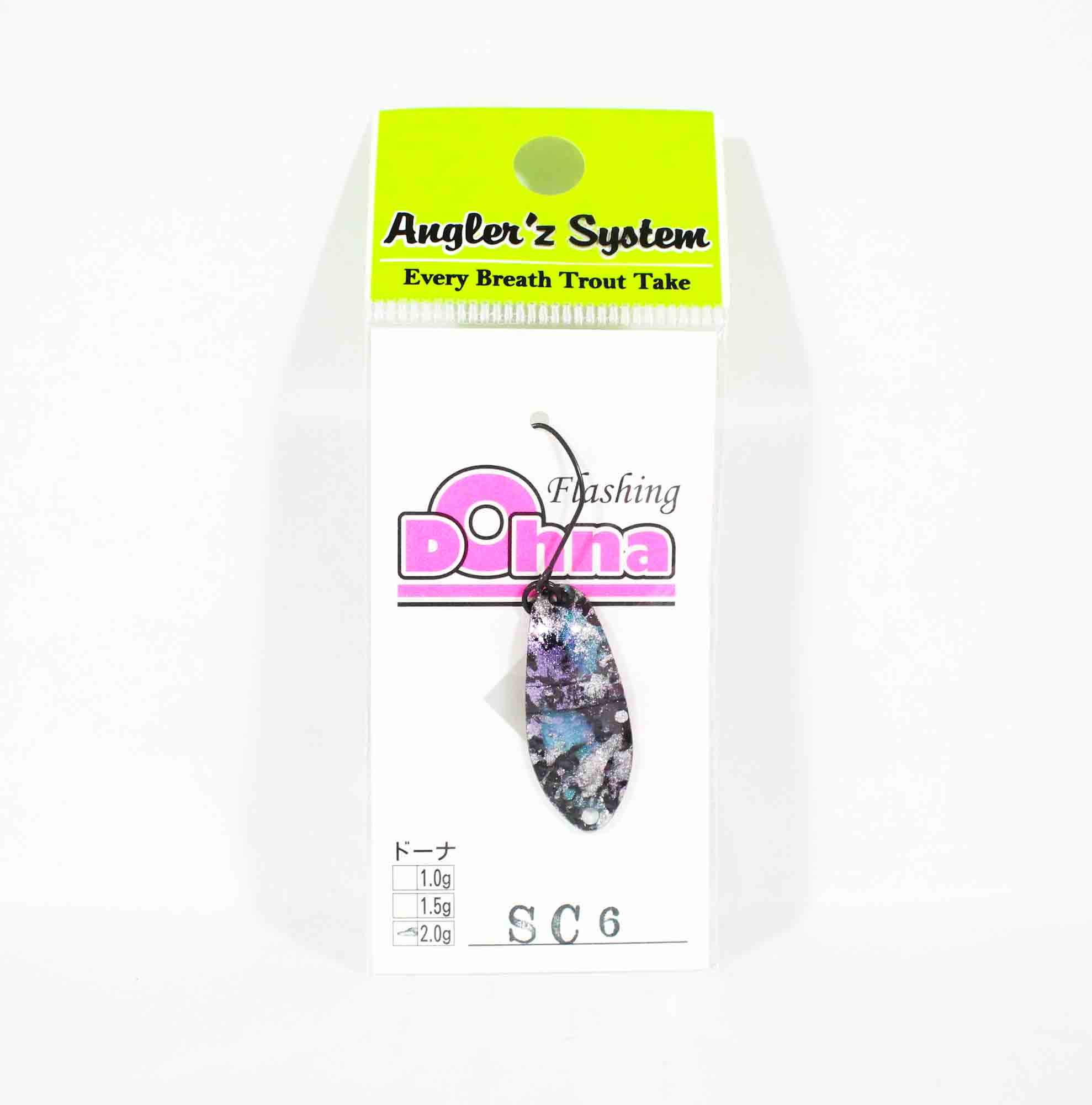 Anglers System Antem Dohna 2.0 grams Spoon Sinking Lure SC6 (3849)