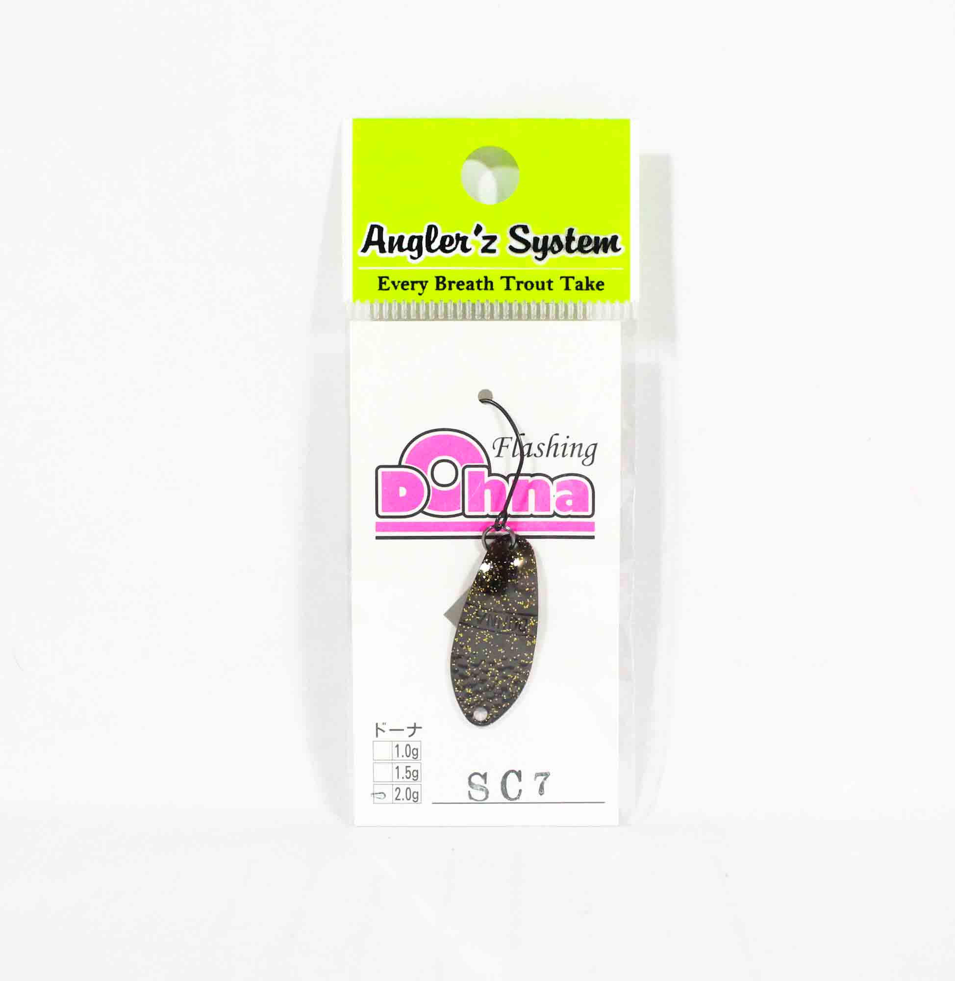 Anglers System Antem Dohna 2.0 grams Spoon Sinking Lure SC7 (3856)