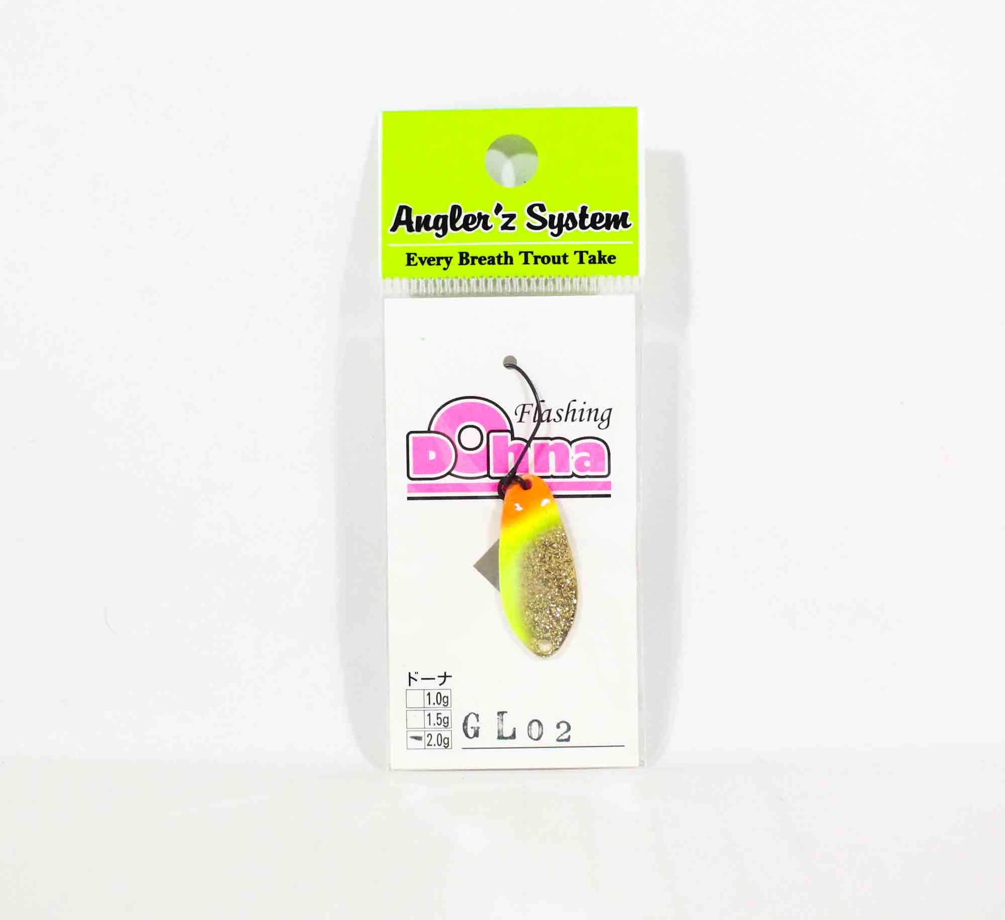 Anglers System Antem Dohna 2.0 grams Spoon Sinking Lure GL02 (6437)