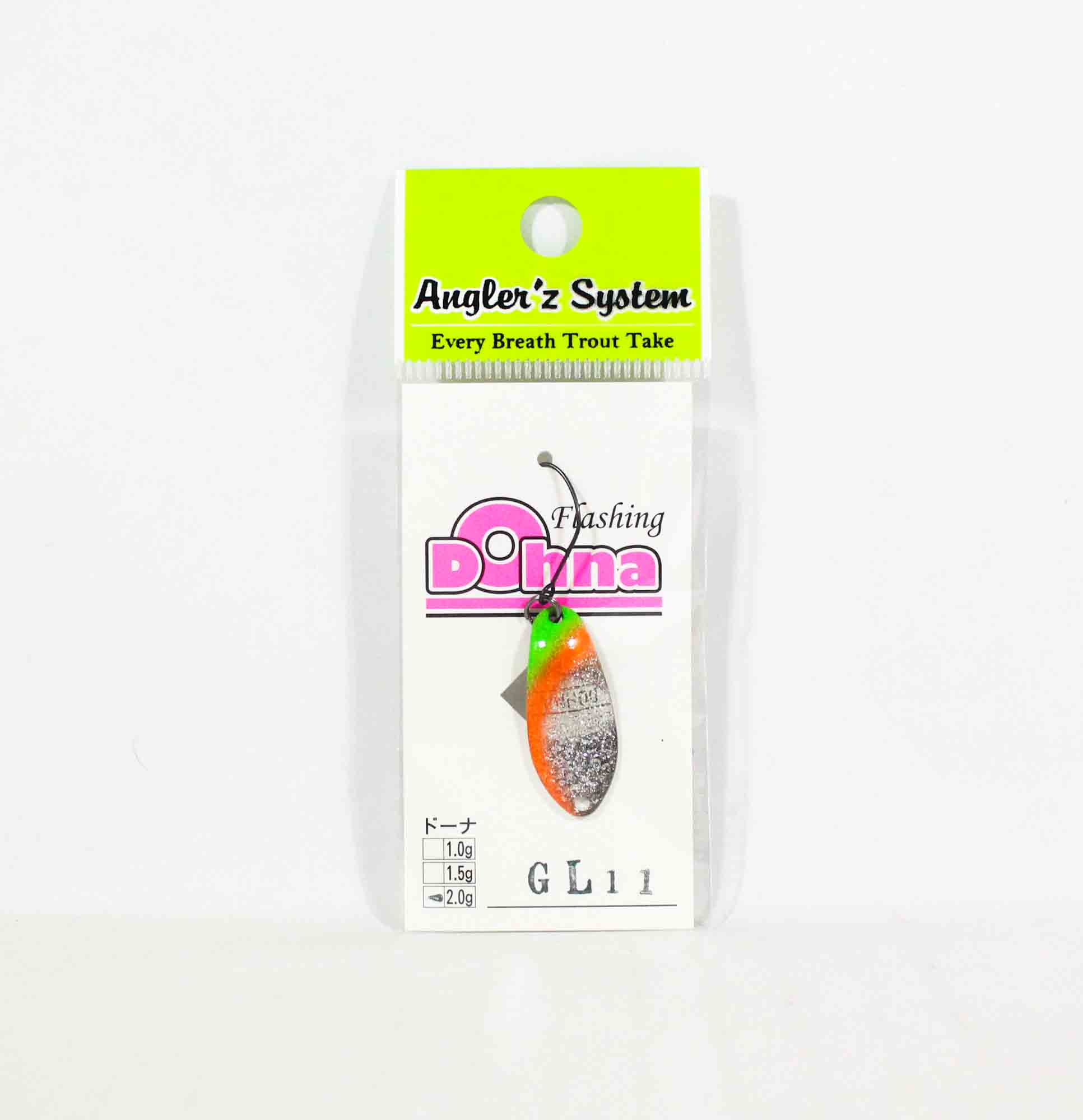 Anglers System Antem Dohna 2.0 grams Spoon Sinking Lure GL11 (6529)