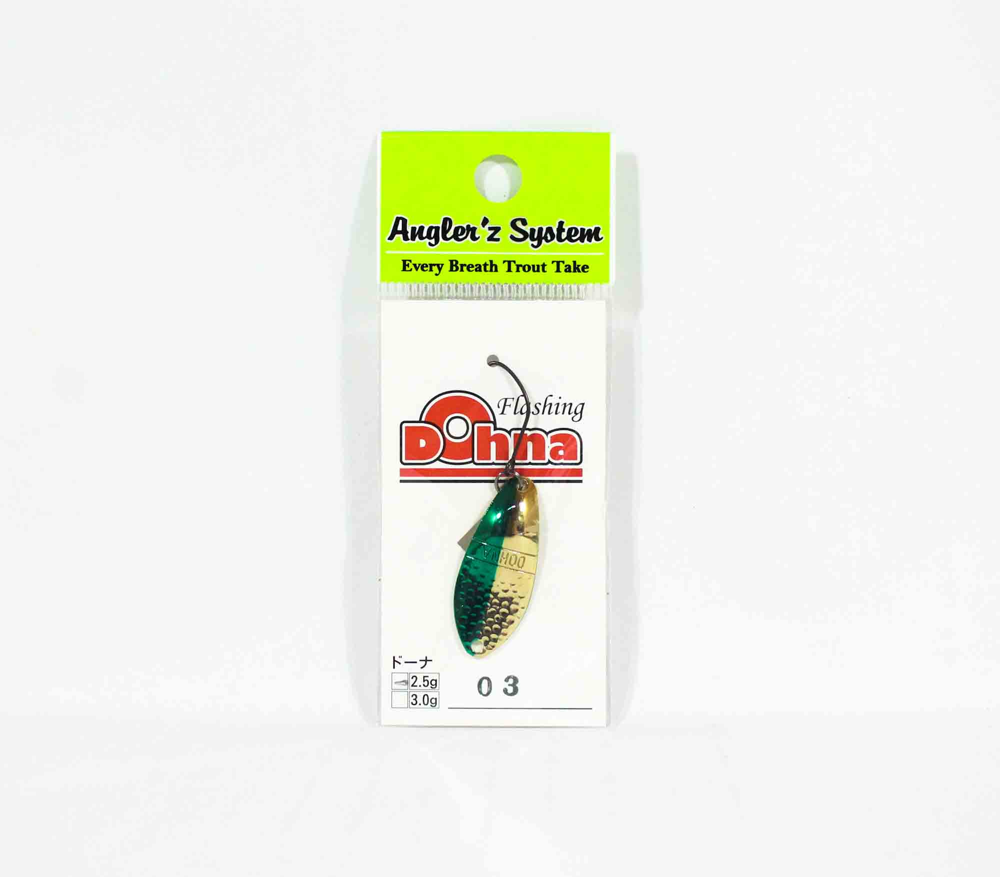 Anglers System Antem Dohna 2.5 grams Spoon Sinking Lure 03 (2691)