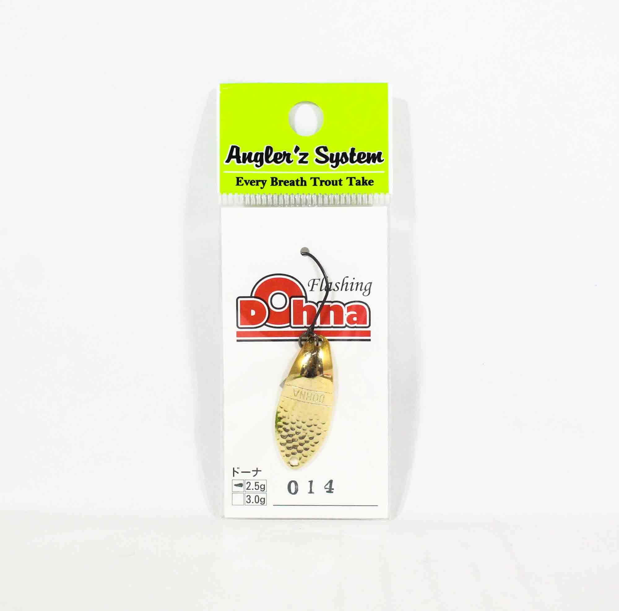 Anglers System Antem Dohna 2.5 grams Spoon Sinking Lure 014 (3193)
