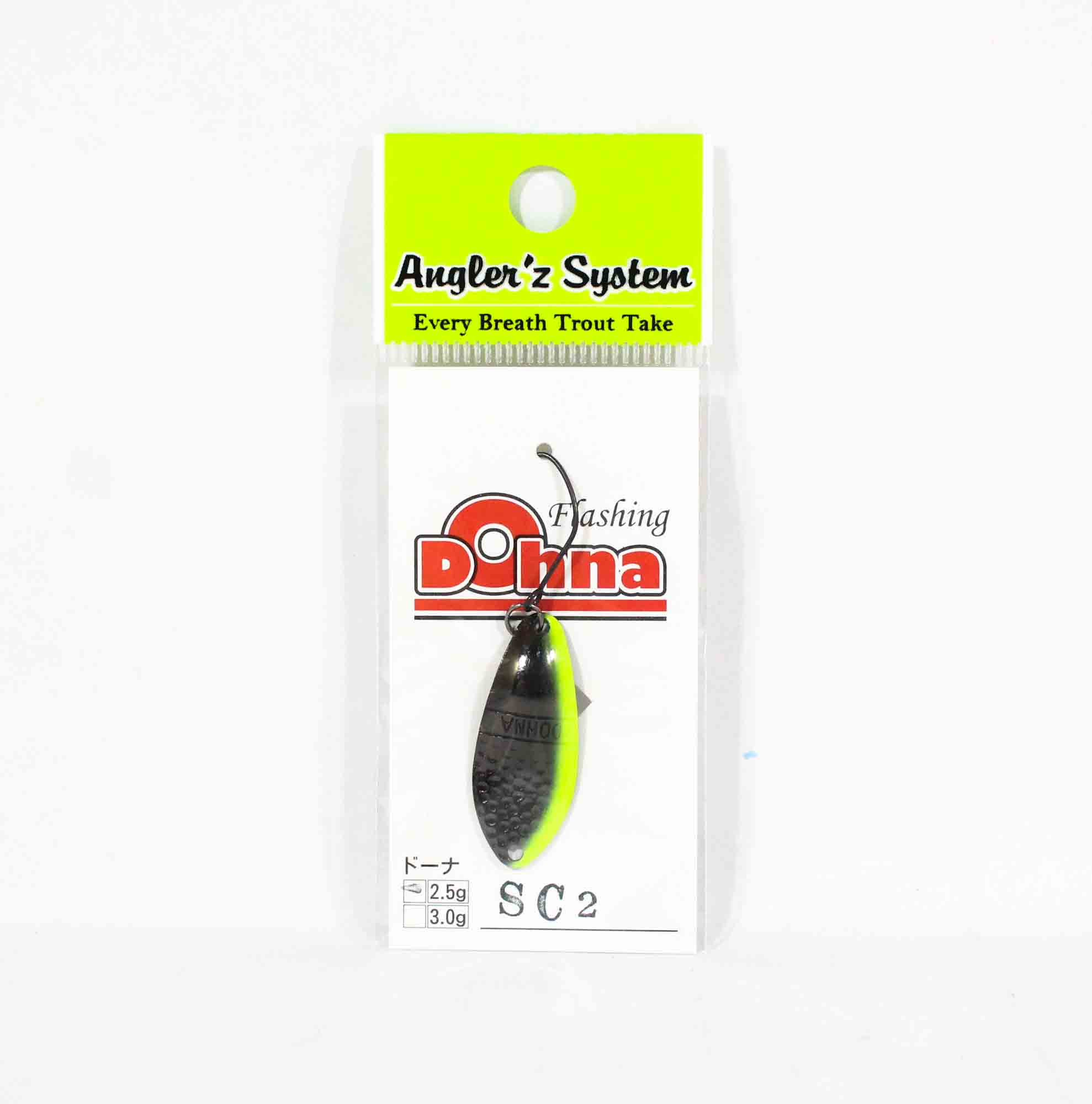 Anglers System Antem Dohna 2.5 grams Spoon Sinking Lure SC2 (2279)
