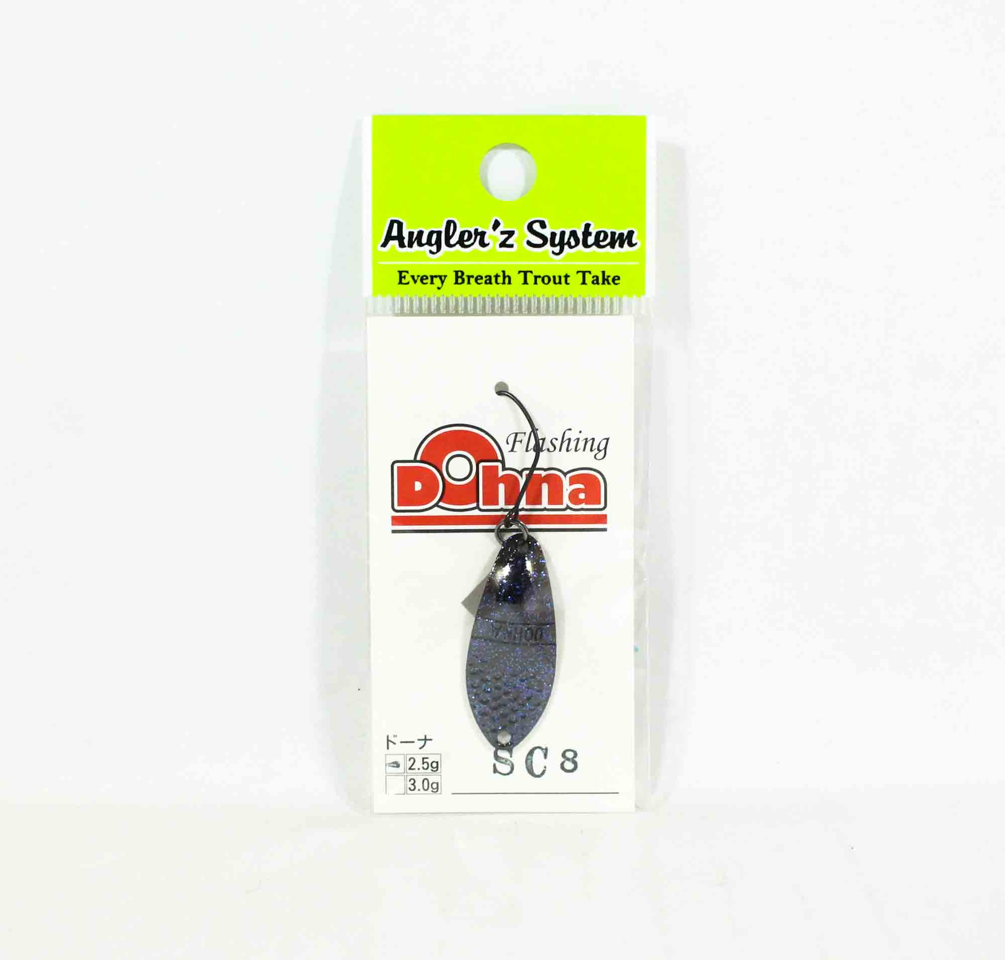 Anglers System Antem Dohna 2.5 grams Spoon Sinking Lure SC8 (3917)