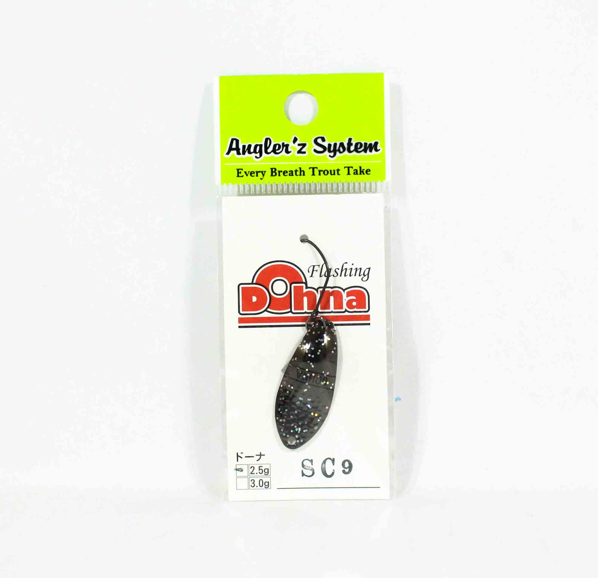 Anglers System Antem Dohna 2.5 grams Spoon Sinking Lure SC09 (3924)
