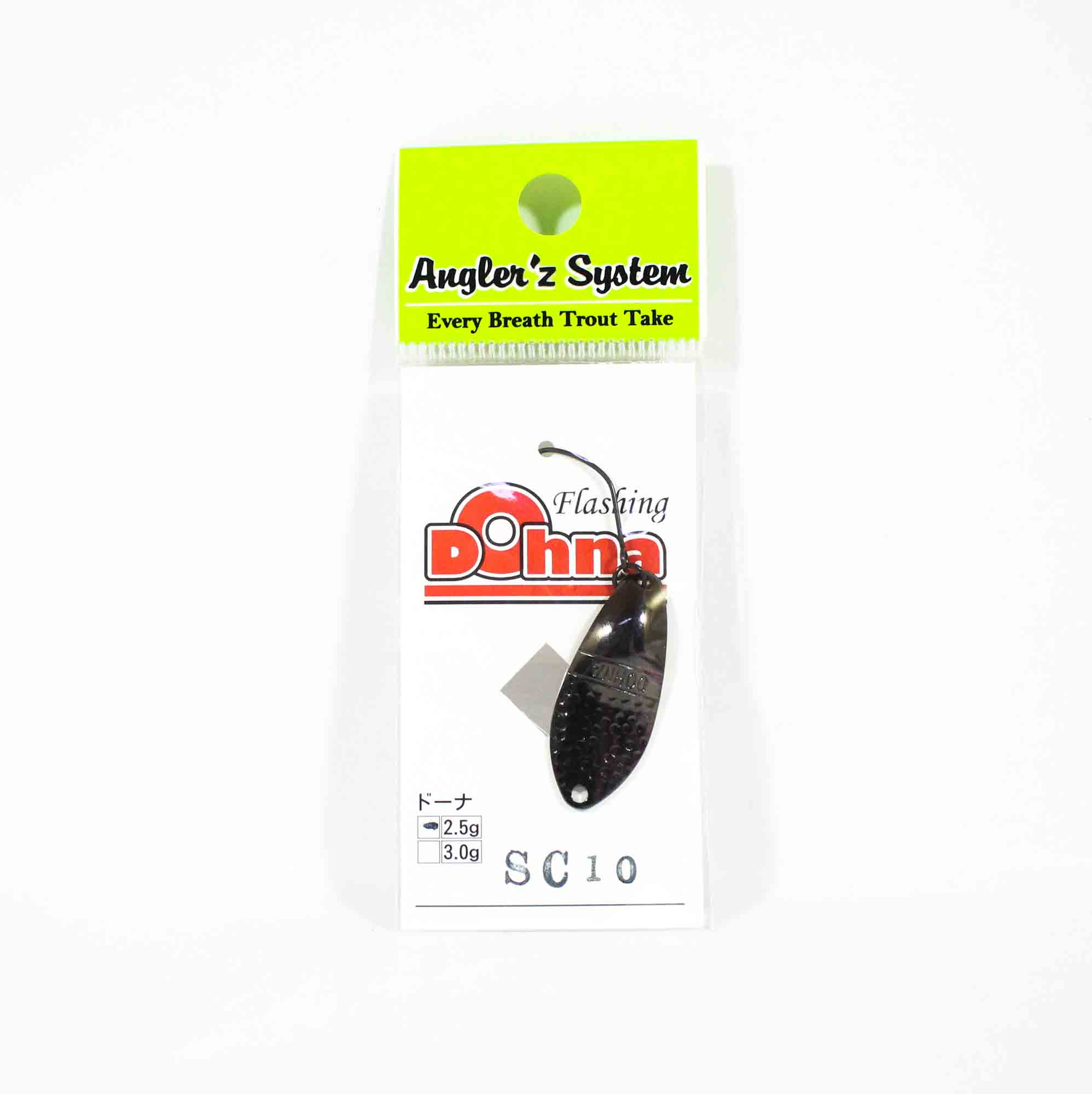 Anglers System Antem Dohna 2.5 grams Spoon Sinking Lure SC10 (3931)