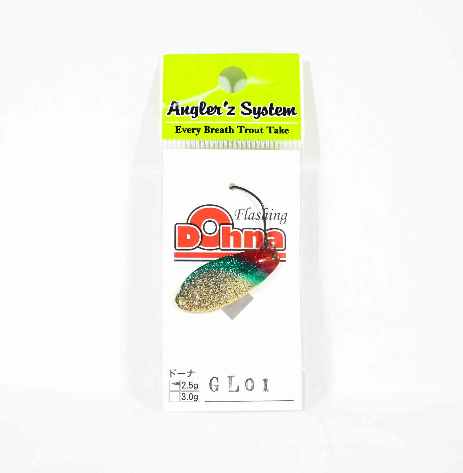 Anglers System Antem Dohna 2.5 grams Spoon Sinking Lure GL01 (6543)