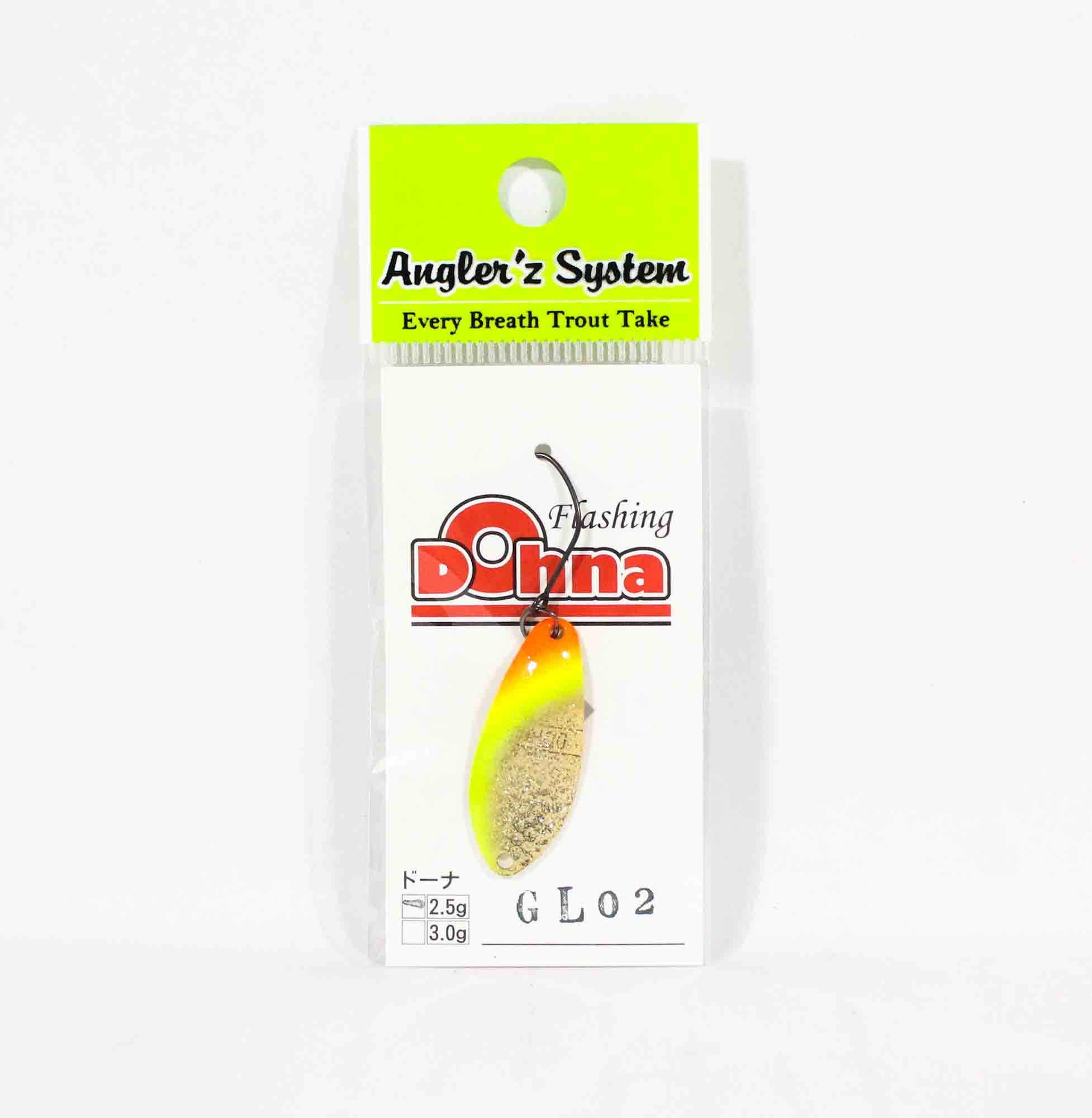 Anglers System Antem Dohna 2.5 grams Spoon Sinking Lure GL02 (6550)