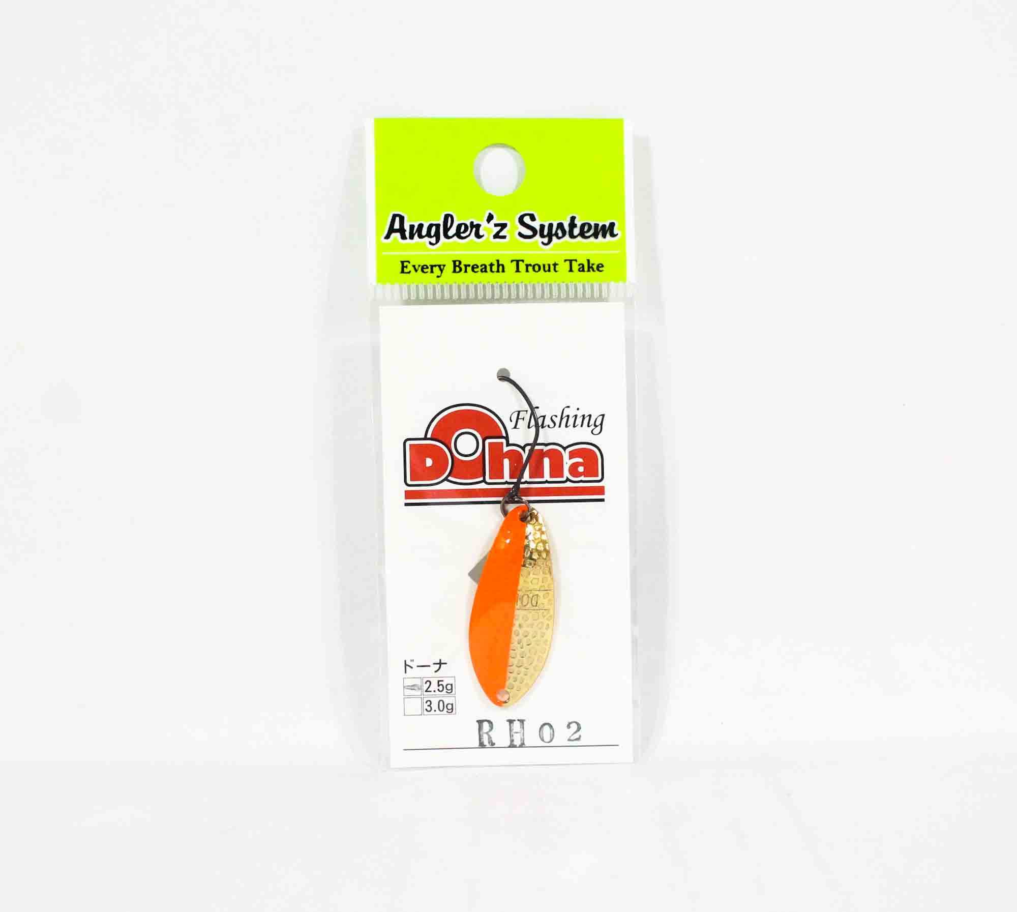 Anglers System Antem Dohna 2.5 grams Spoon Sinking Lure RH02 (5842)