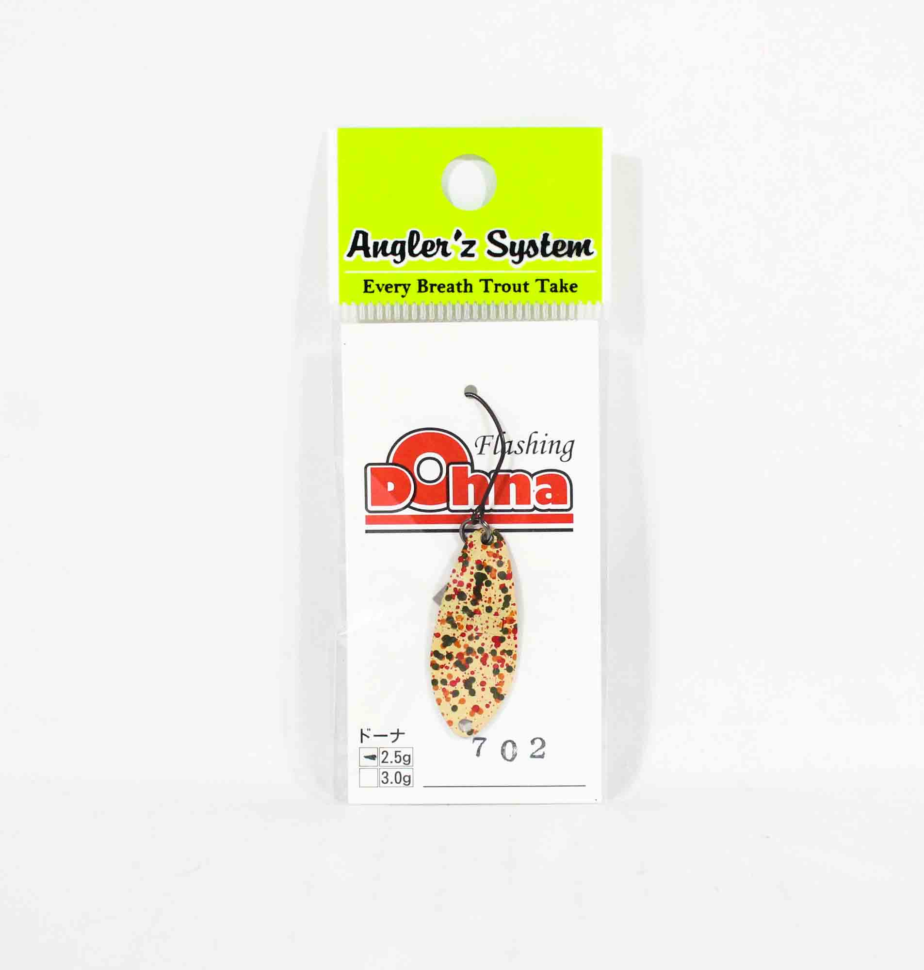 Anglers System Antem Dohna 2.5 grams Spoon Sinking Lure 702 (6269)