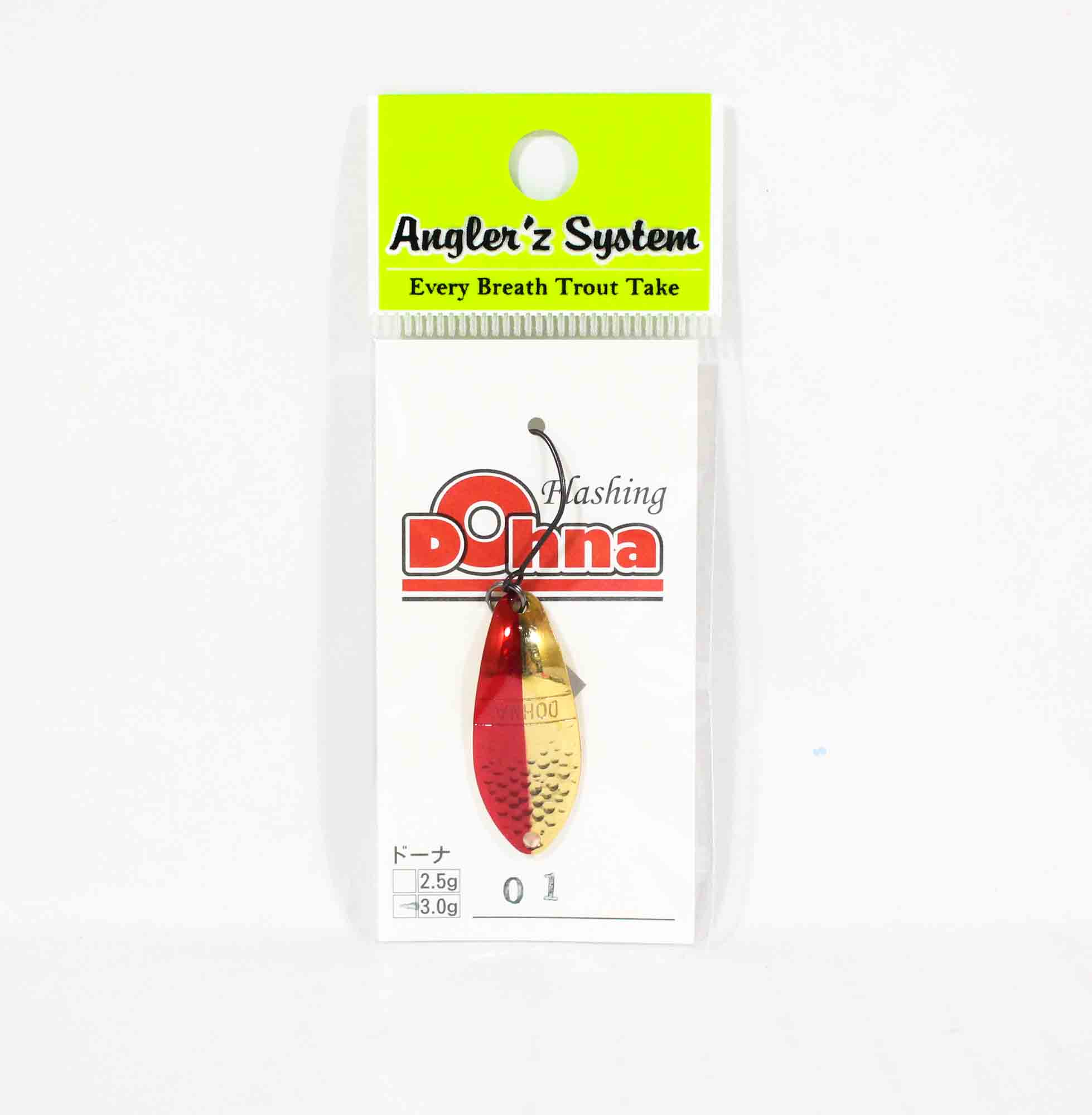 Anglers System Antem Dohna 3.0 grams Spoon Sinking Lure 01 (3438)