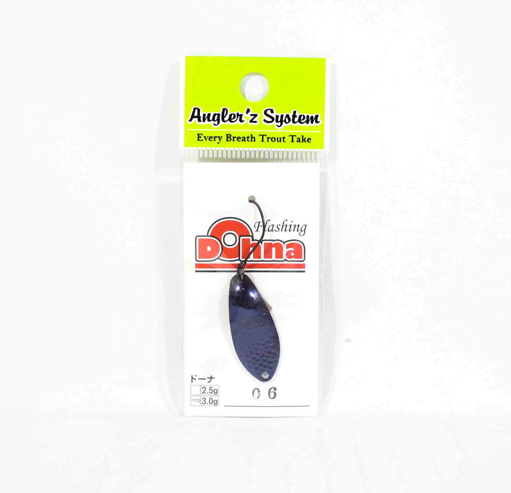 Anglers System Antem Dohna 3.0 grams Spoon Sinking Lure 06 (3469)