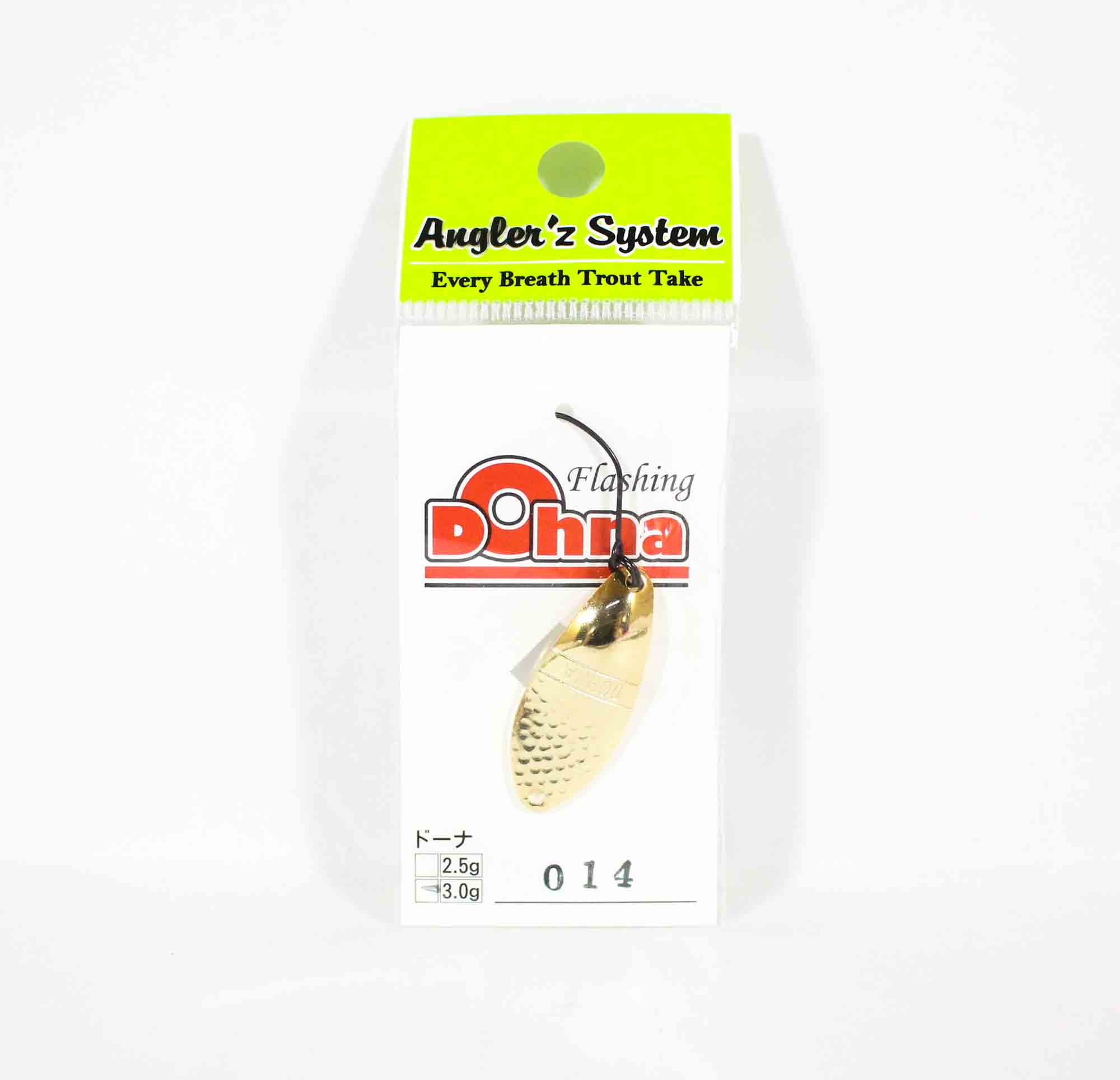 Anglers System Antem Dohna 3.0 grams Spoon Sinking Lure 014 (3582)