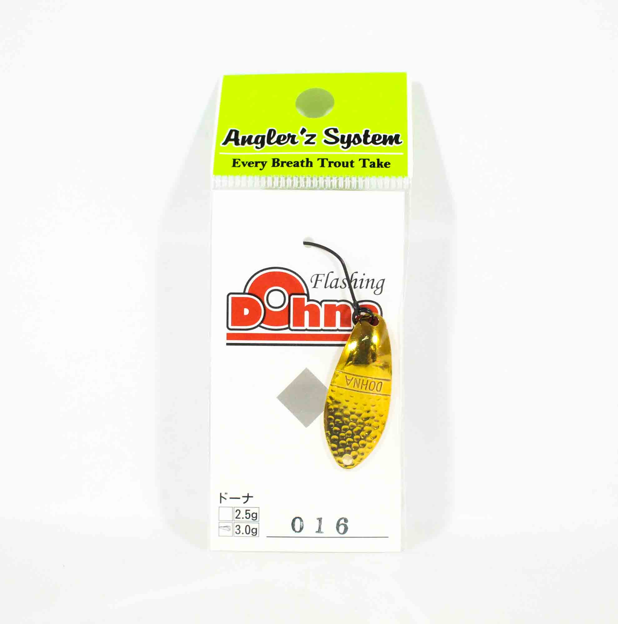 Anglers System Antem Dohna 3.0 grams Spoon Sinking Lure 016 (3605)