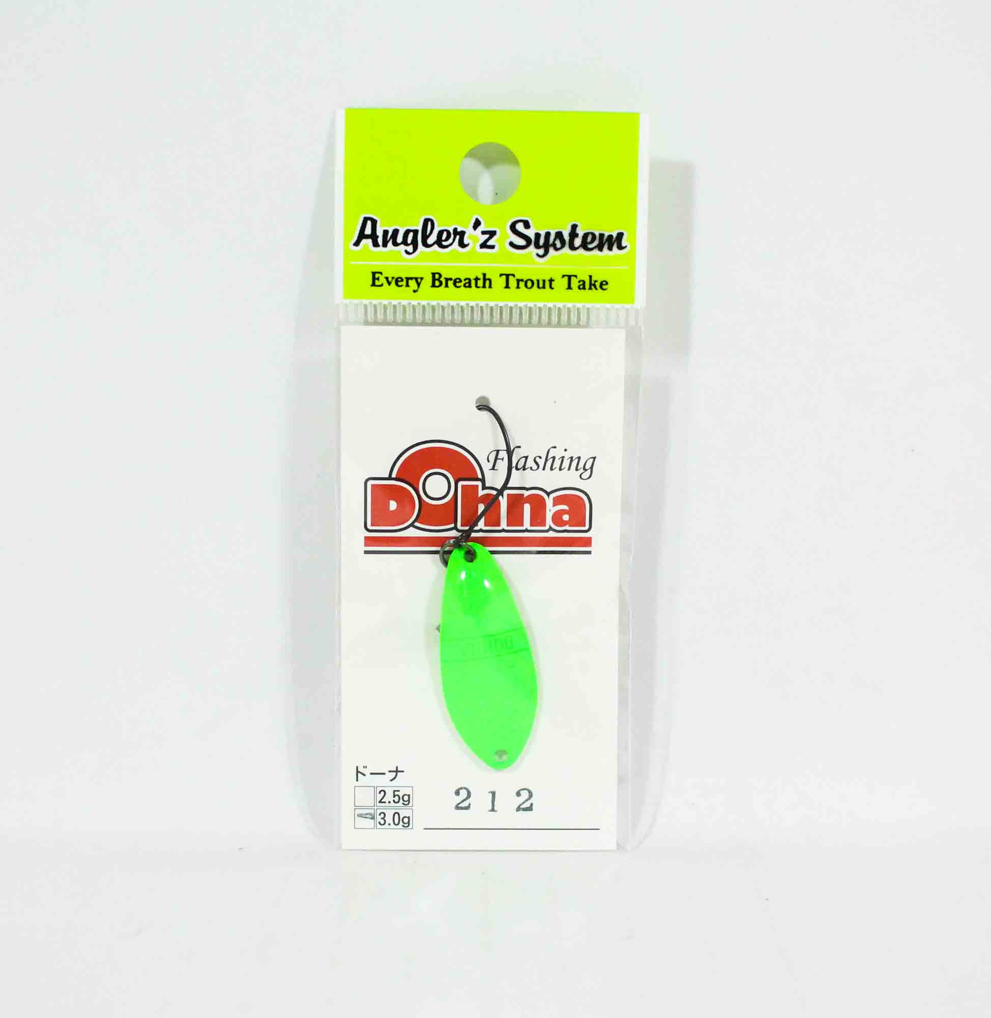 Anglers System Antem Dohna 3.0 grams Spoon Sinking Lure 212 (3940)