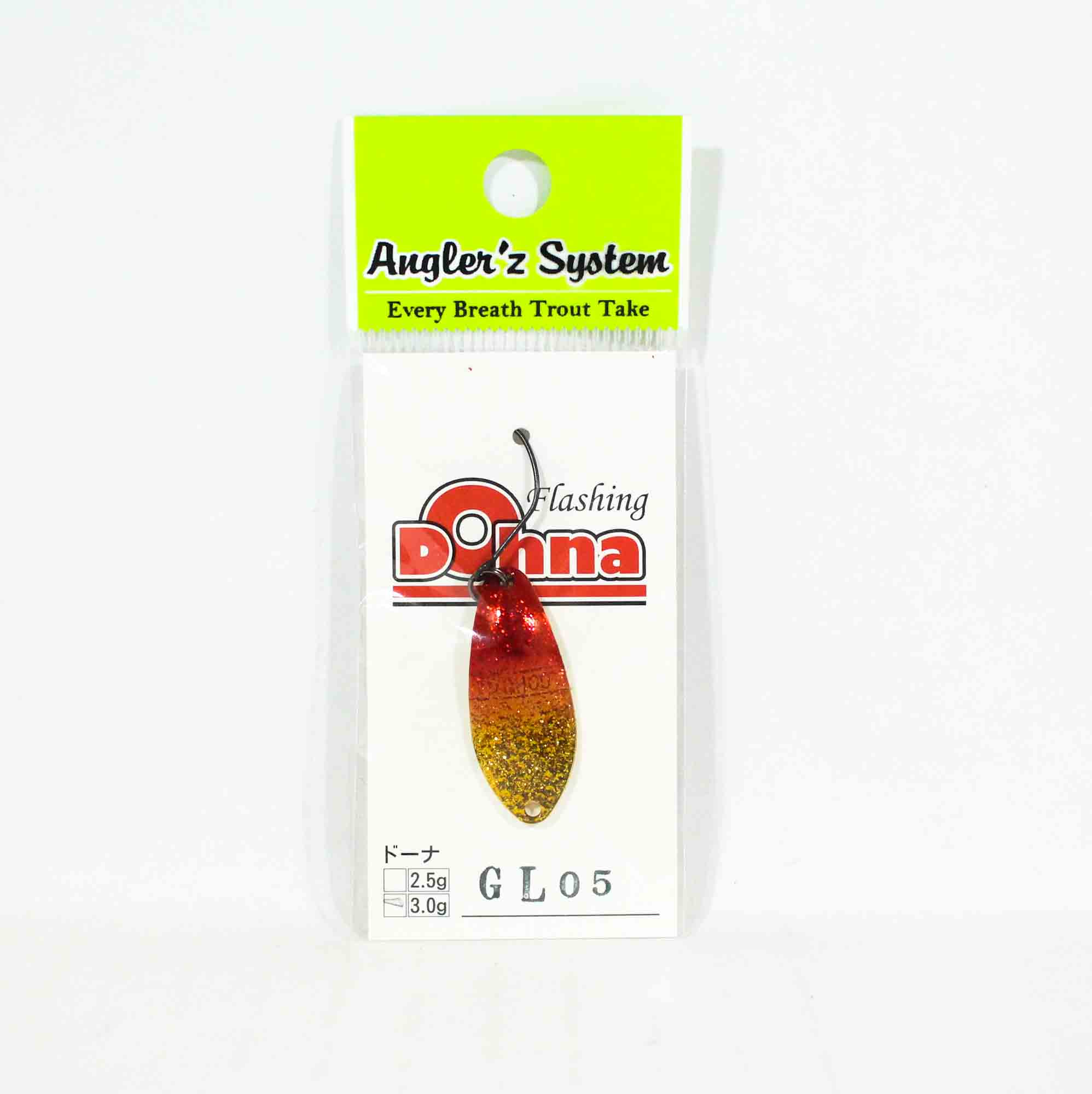 Anglers System Antem Dohna 3.0 grams Spoon Sinking Lure GL05 (6703)