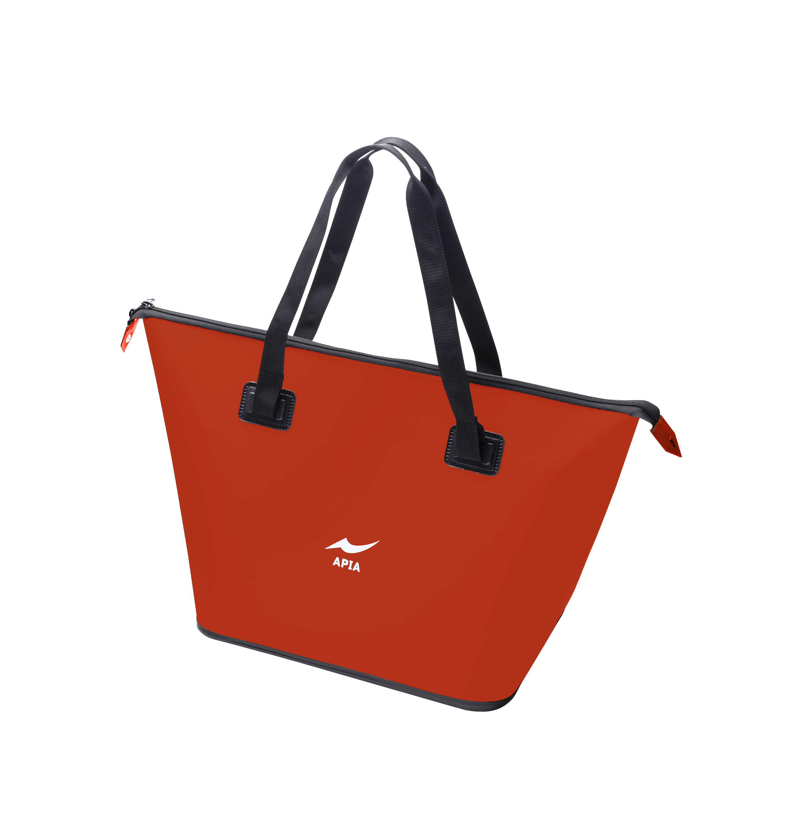 Apia EVA Tote Bag Red Size M 430 x 280 x 380 mm (6920)