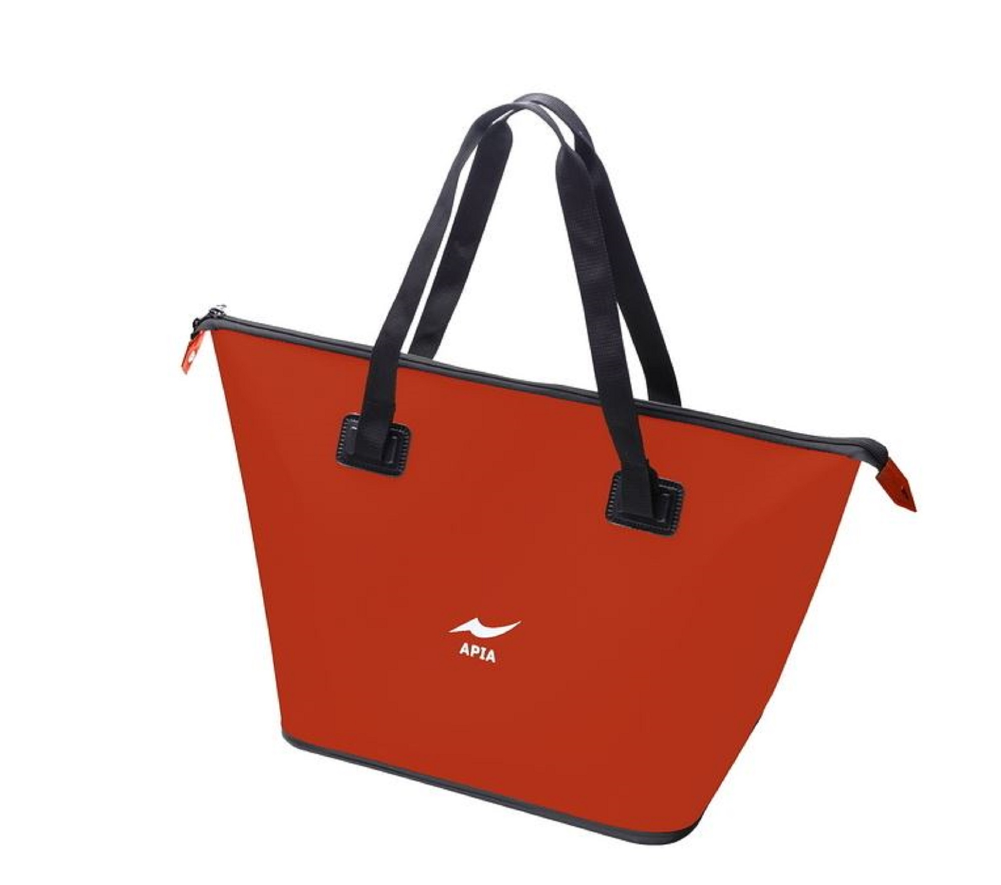 Apia EVA Tote Bag Black Size L 600 x 360 x 600 mm Red (6968)