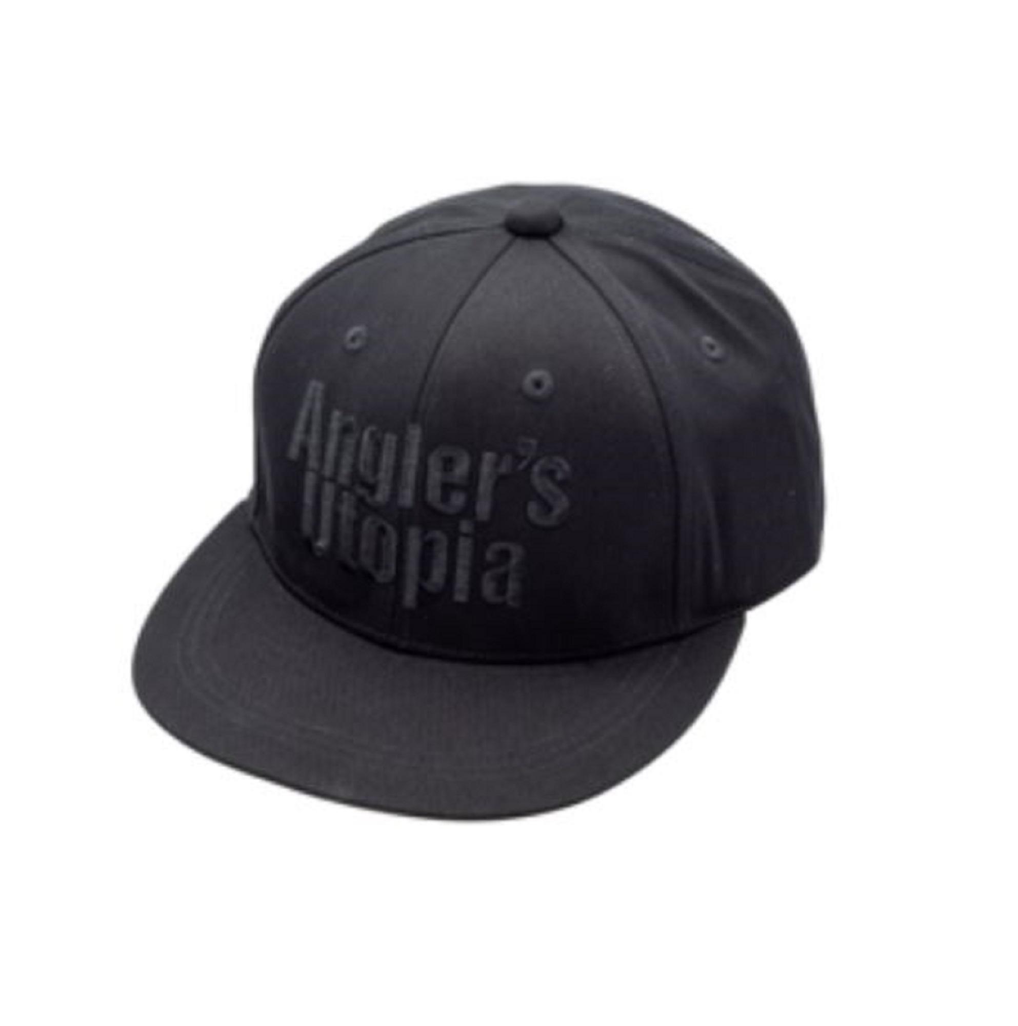 Apia Cap Flat Cap Free Size Black Black (0672)