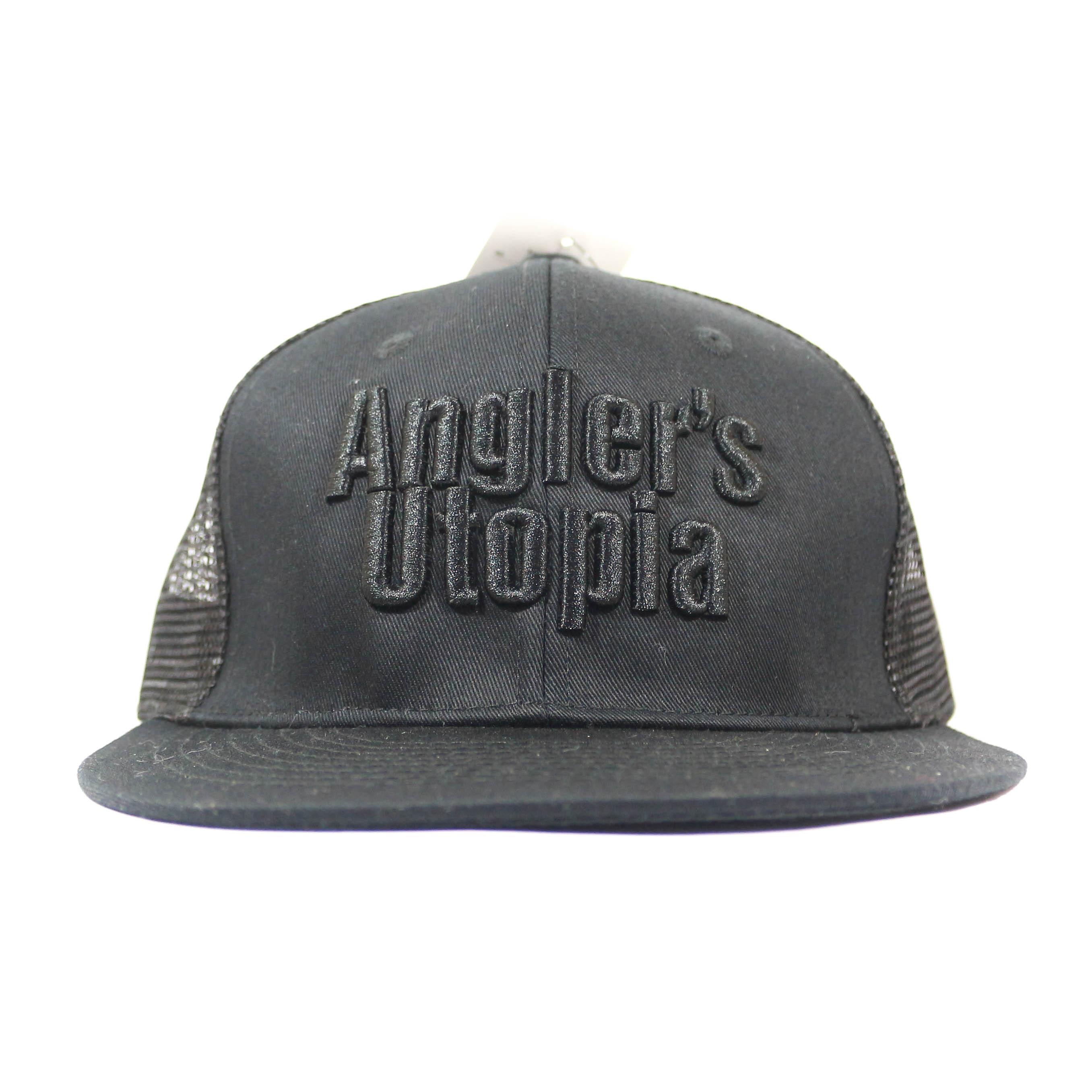 Apia Cap Flat Mesh Cap Free Size Black Black (9884)