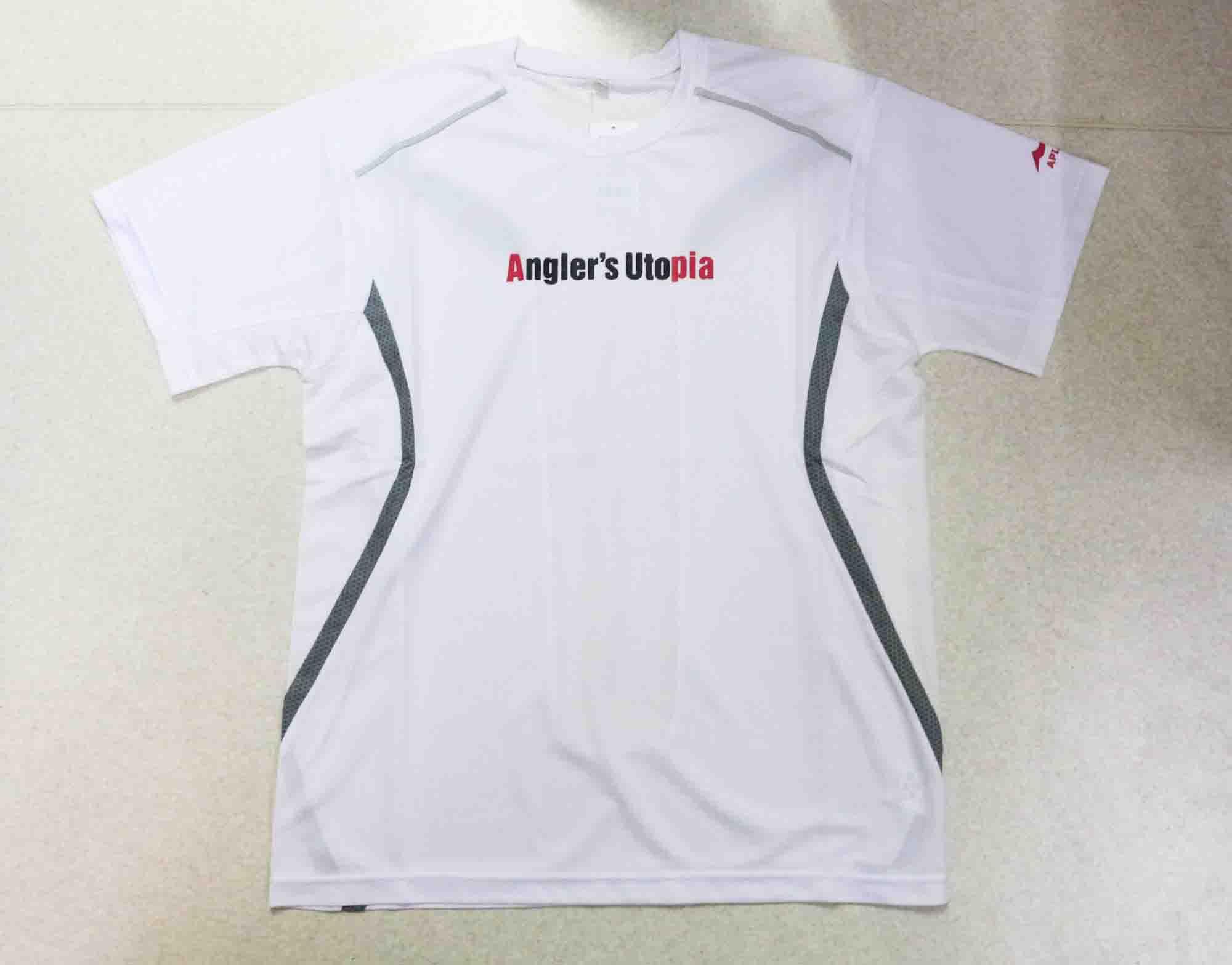 Apia T-Shirt Dry Mesh Short Sleeve Size L White (9662)