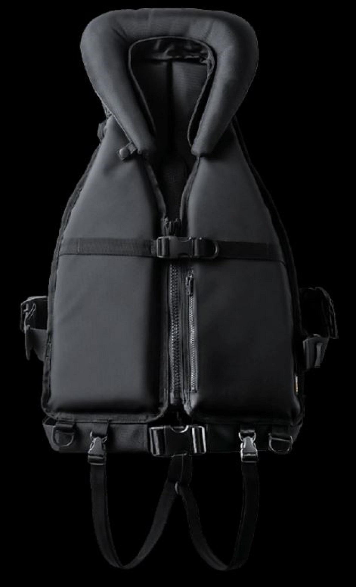Apia Floating Vest Gannet Ballistic Black Free Size (1907)