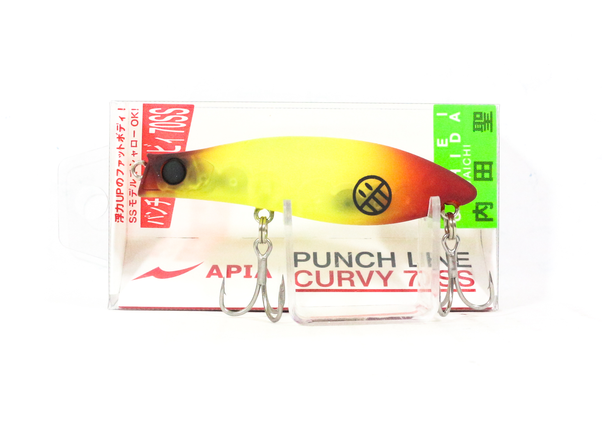Apia Punch Line Curvy 70SS Pencil Sinking Lure 01 (0009)