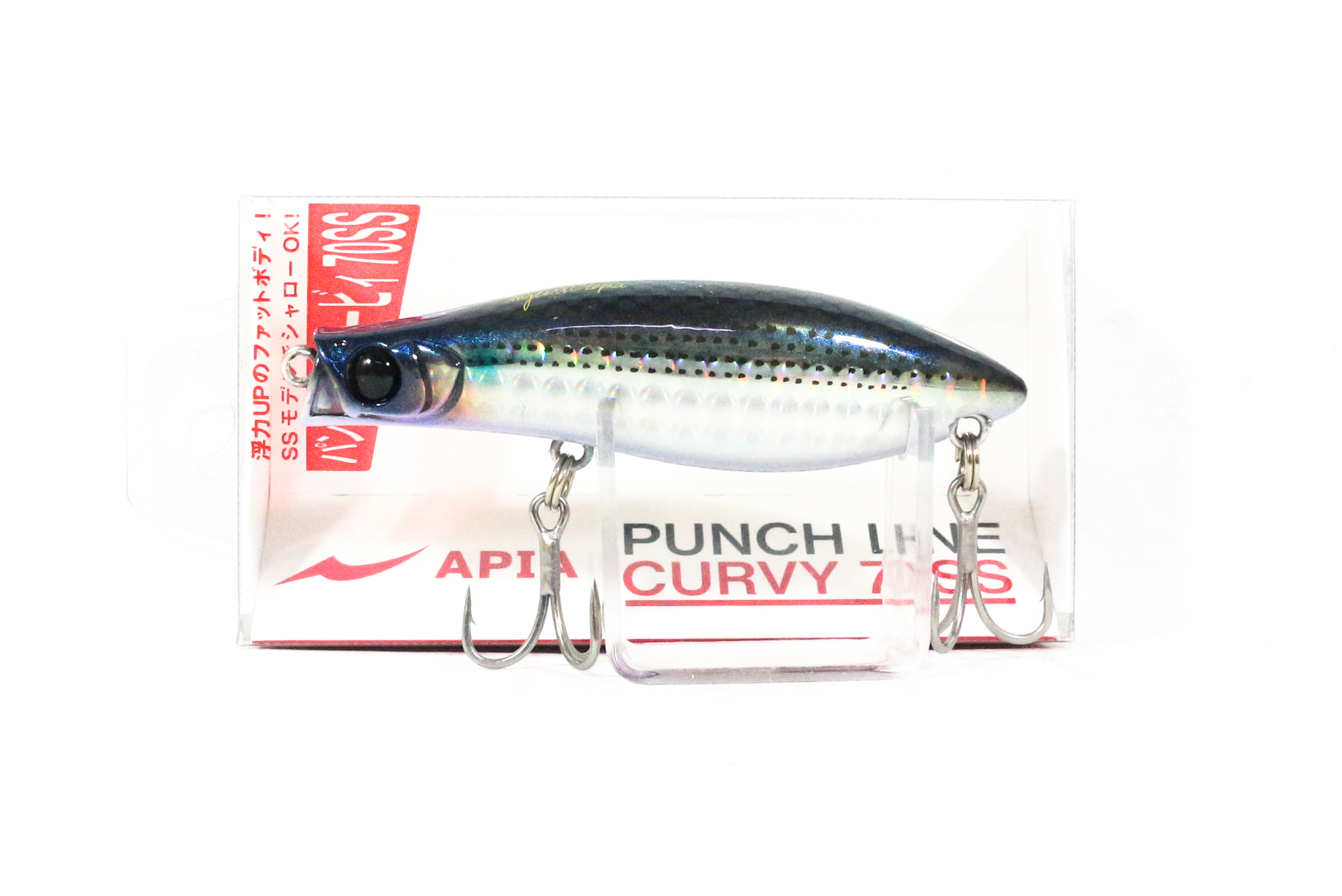 Apia Punch Line Curvy 70SS Pencil Sinking Lure 04 (0030)