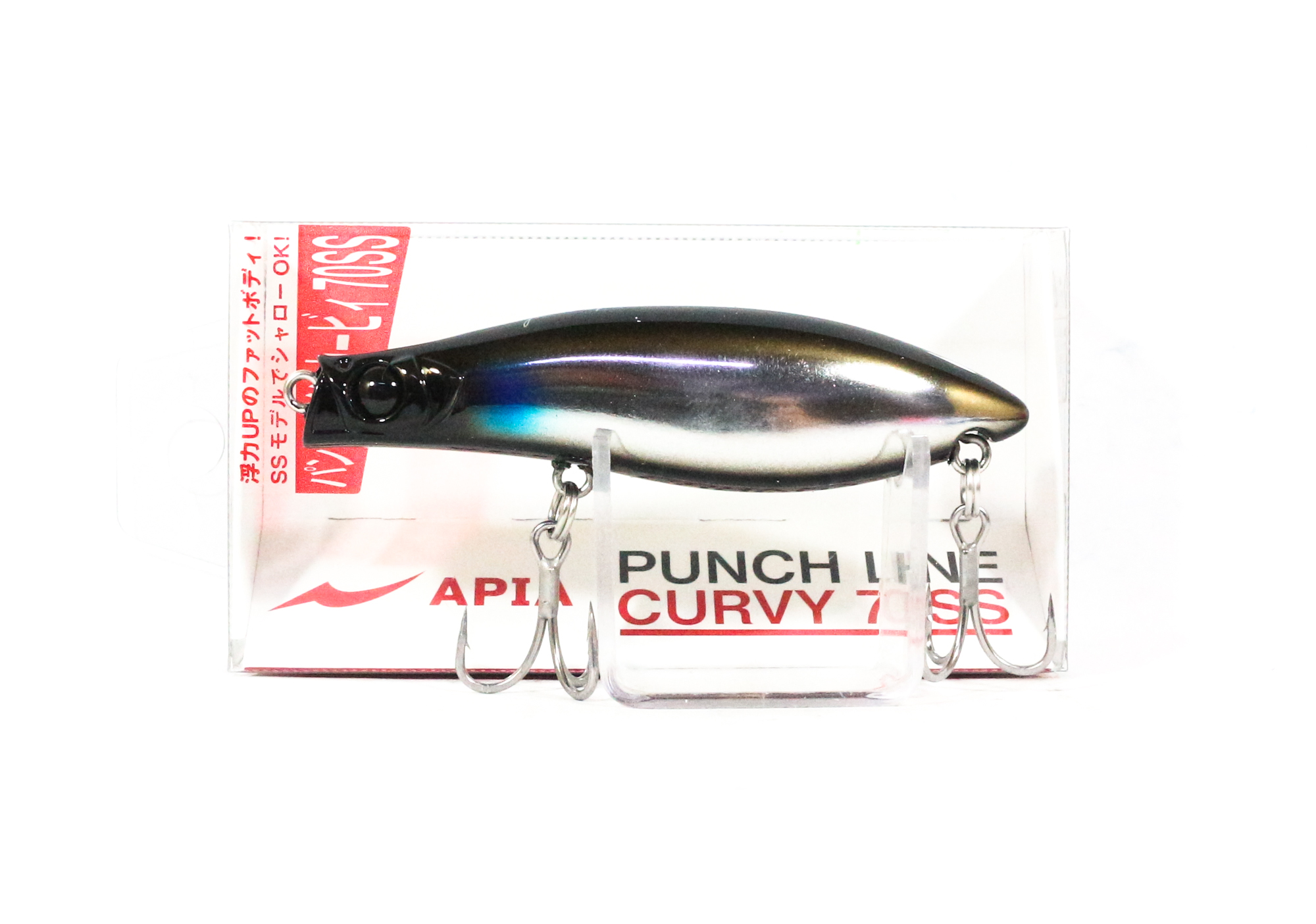Apia Punch Line Curvy 70SS Pencil Sinking Lure 08 (0078)