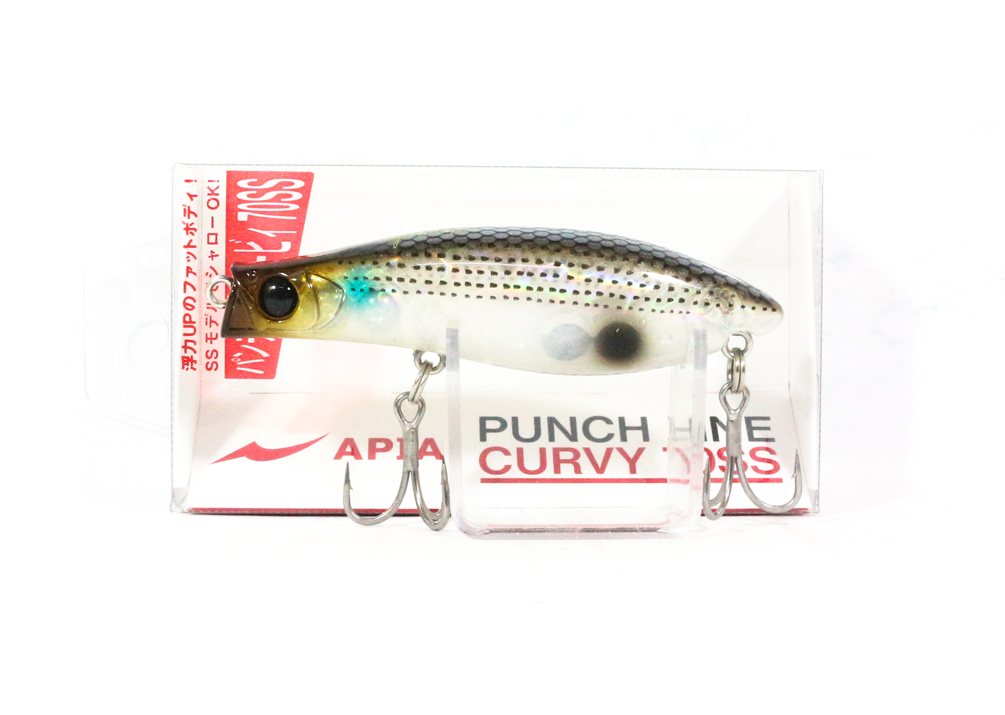 Apia Punch Line Curvy 70SS Pencil Sinking Lure 10 (0092)