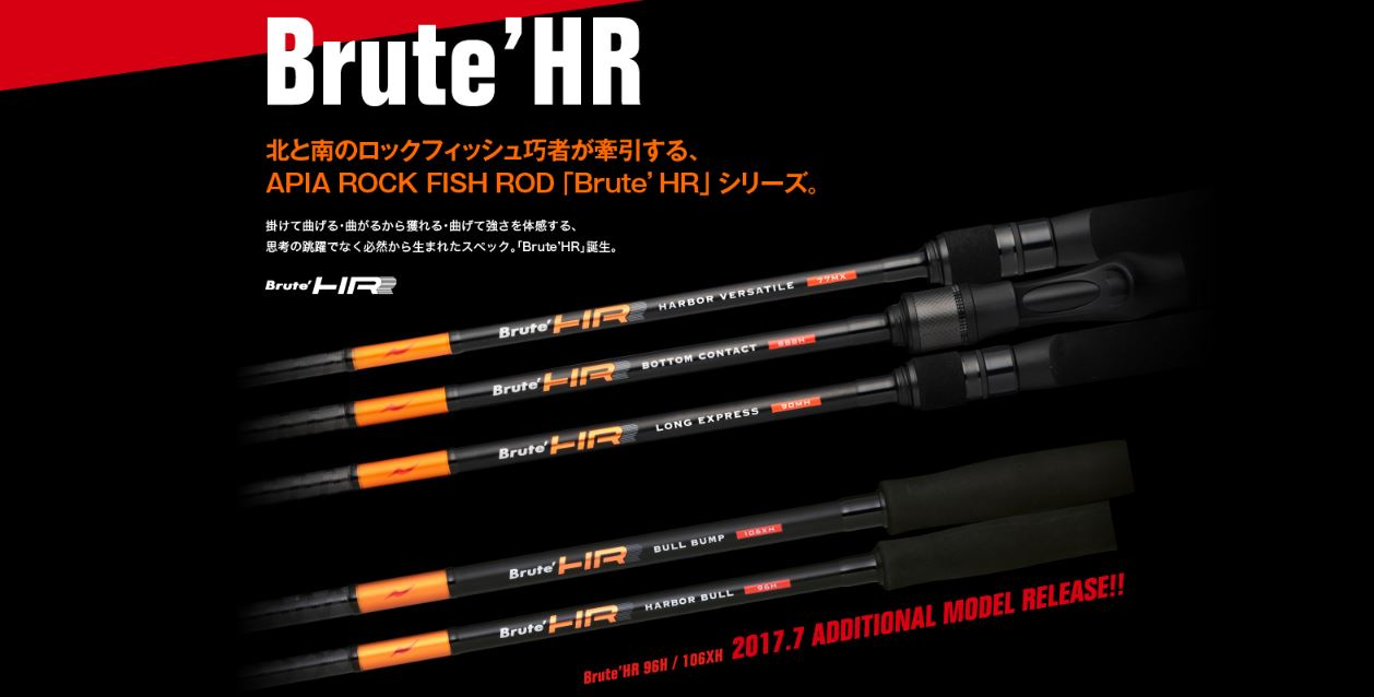 Apia Rod Spinning Brute HR Harbor Bull 106XH (5046)