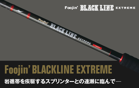 Apia Rod Spinning Foojin Blackline Extreme 910 HX (9013)