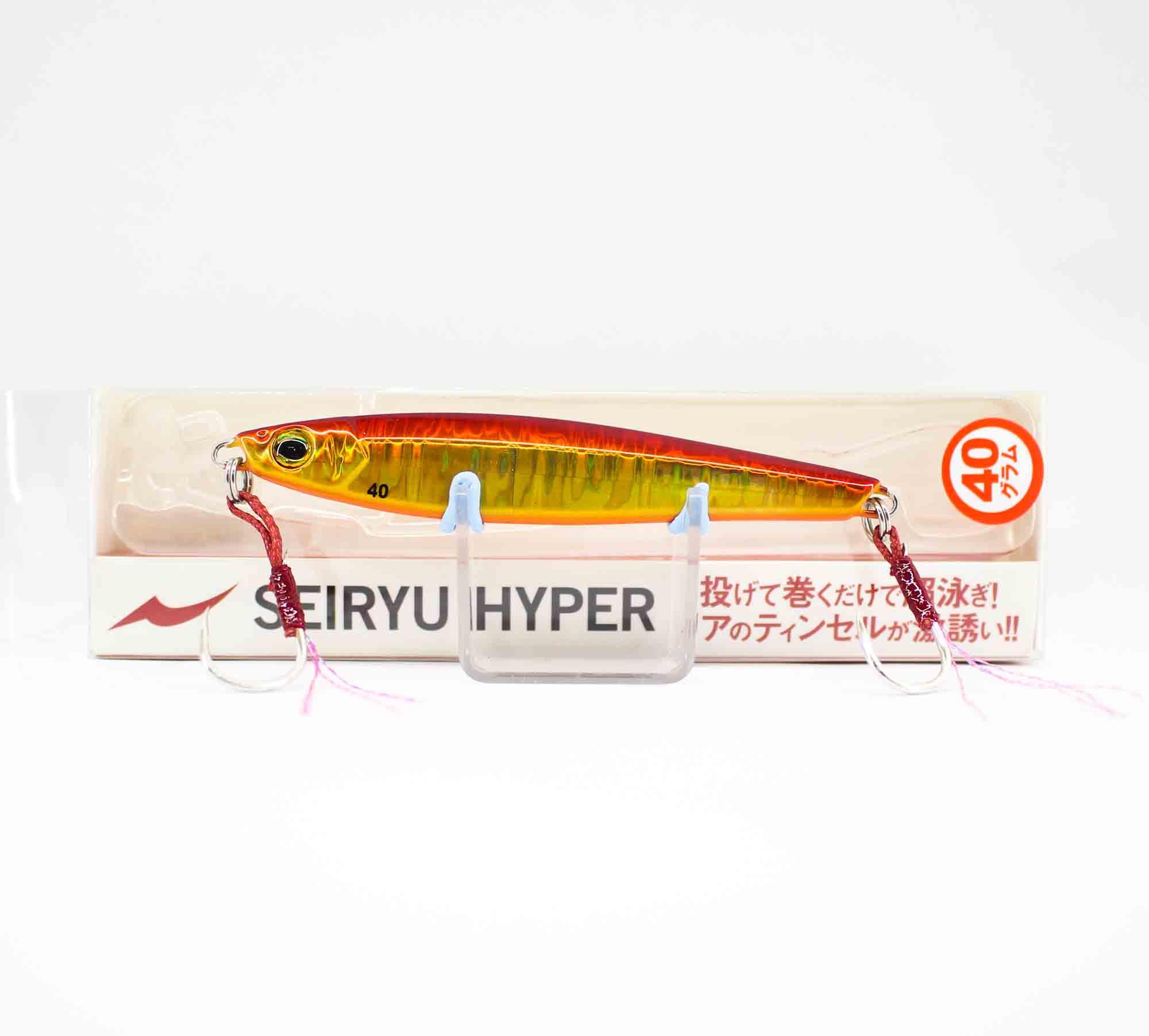 Apia Metal Jig Seiryu Hyper 40 Grams Sinking Lure 05 (2649)