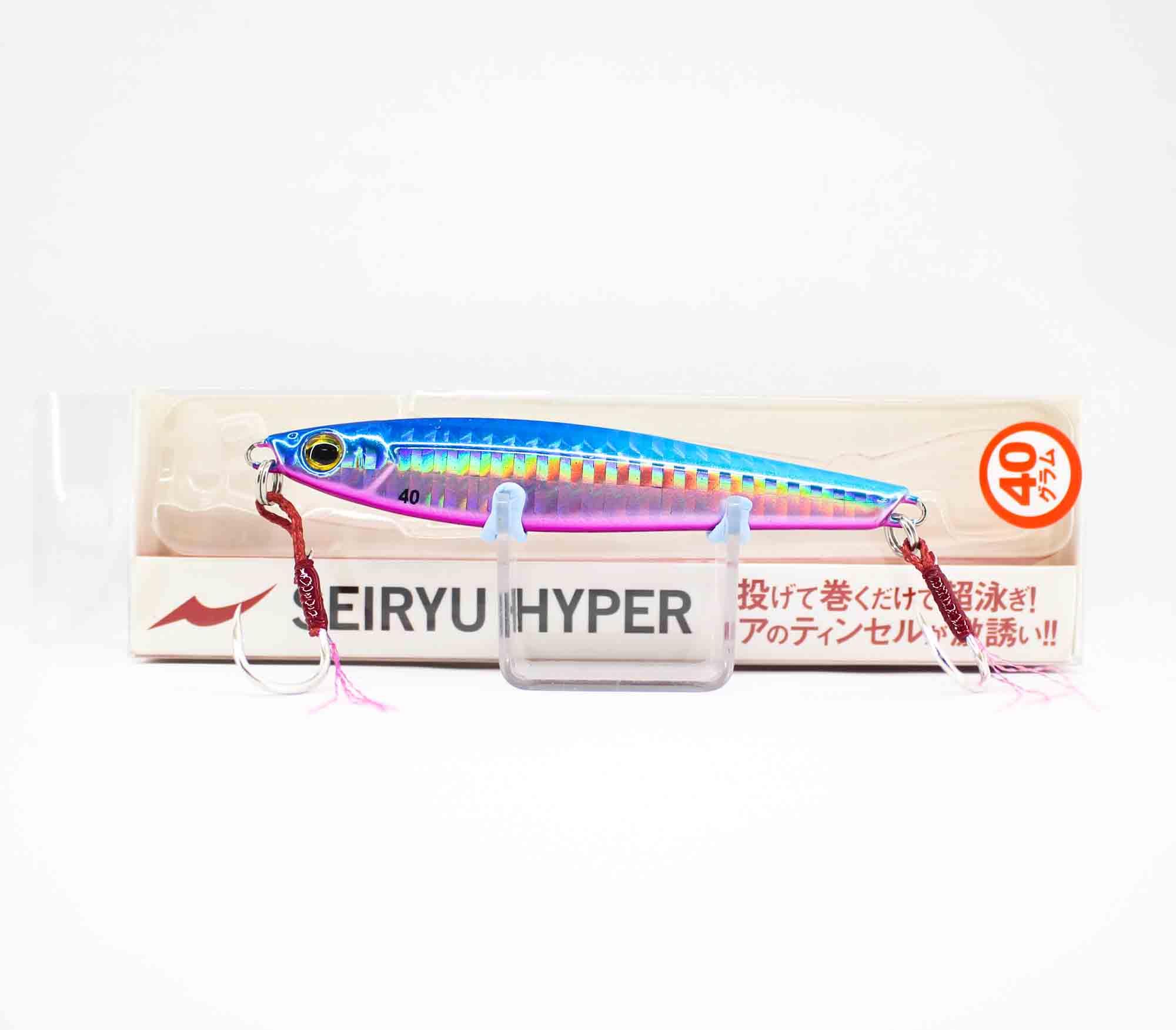 Apia Metal Jig Seiryu Hyper 40 Grams Sinking Lure 07 (2663)