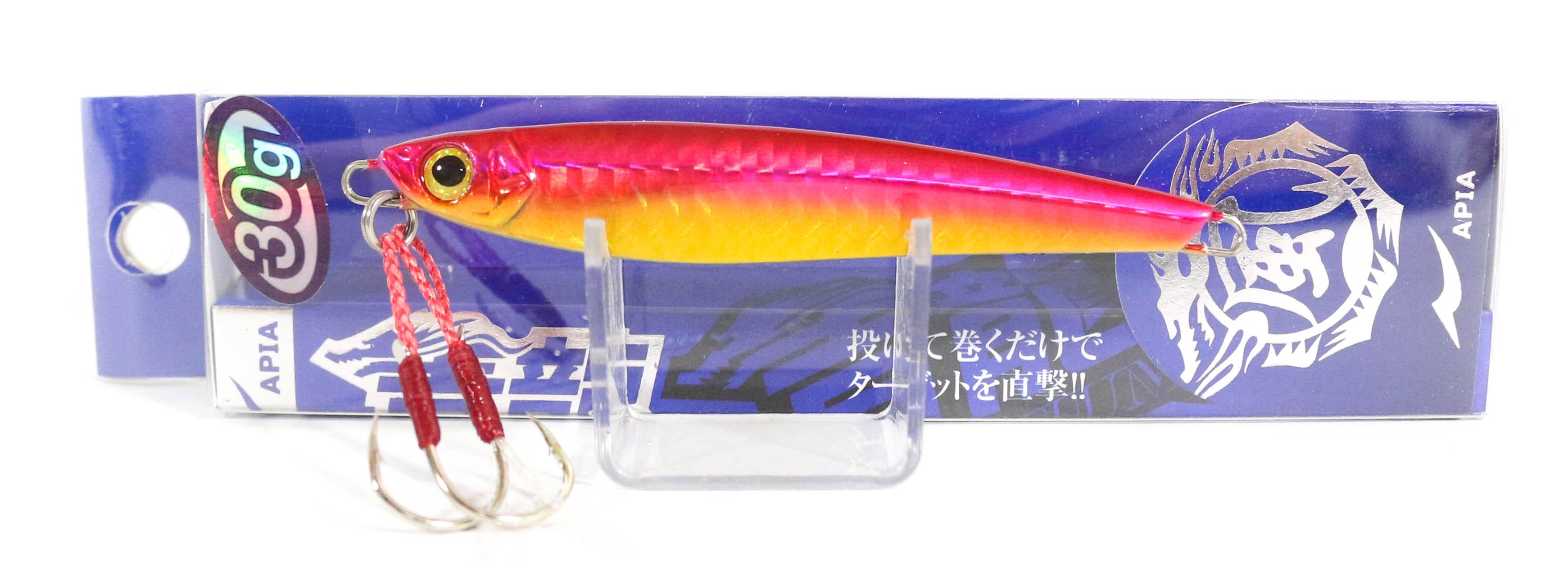 Sale Apia Metal Jig Seiryu Premium 30 Grams Sinking Lure 08 (3929)