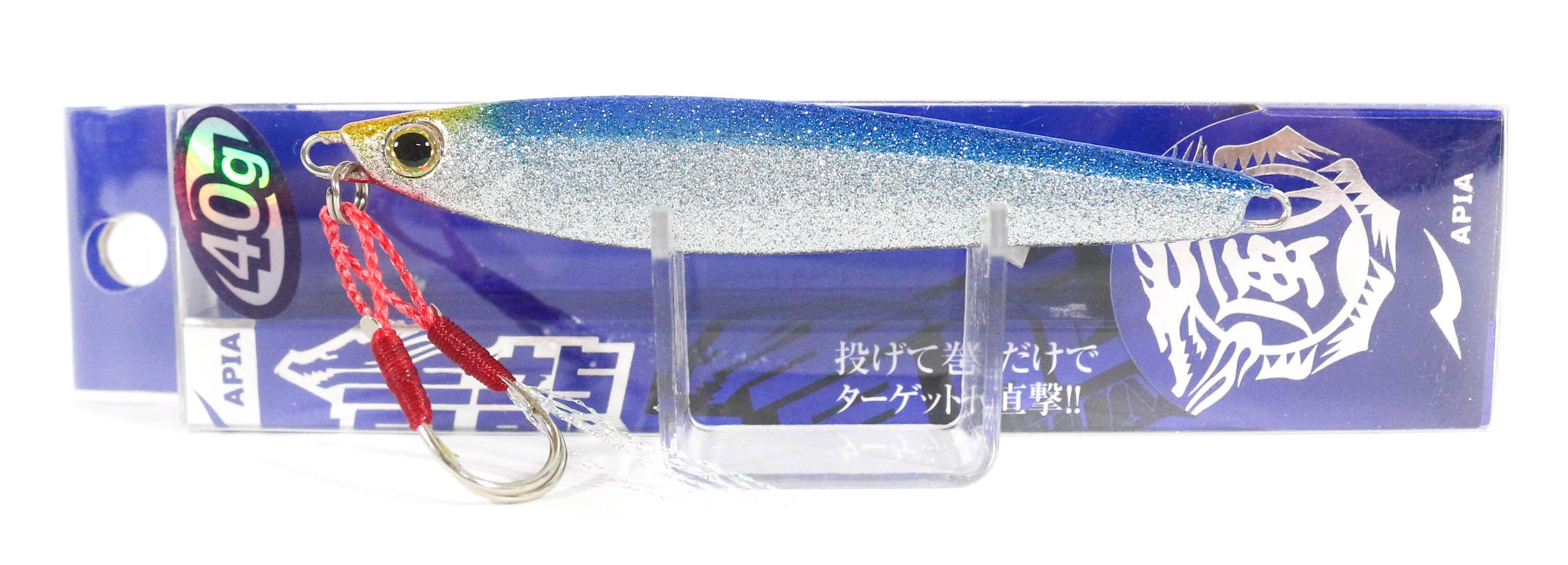 Sale Apia Metal Jig Seiryu Premium 40 grams 42 (8573)
