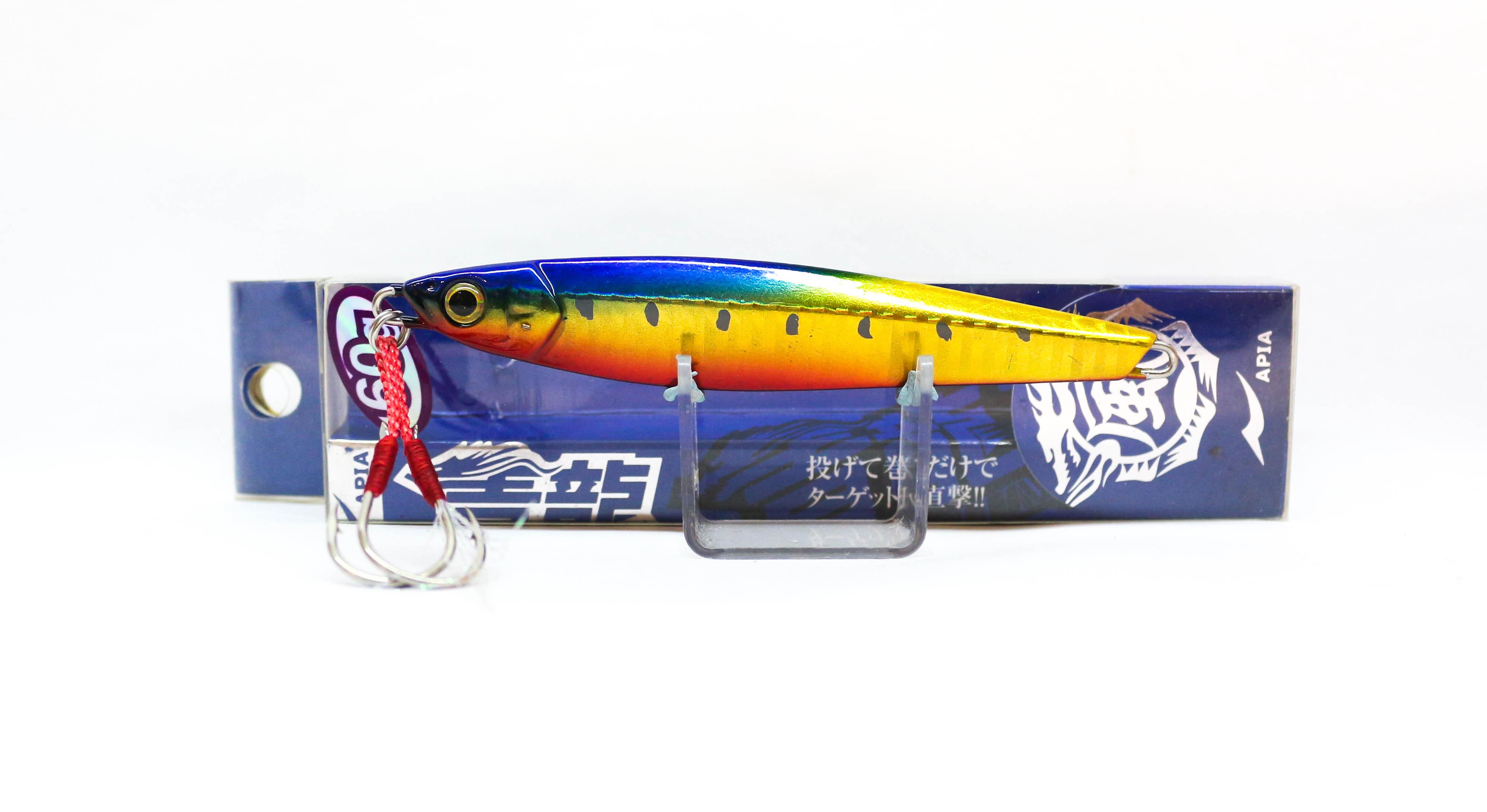 Sale Apia Metal Jig Seiryu Premium 60 Grams Sinking Lure 02 (4063)