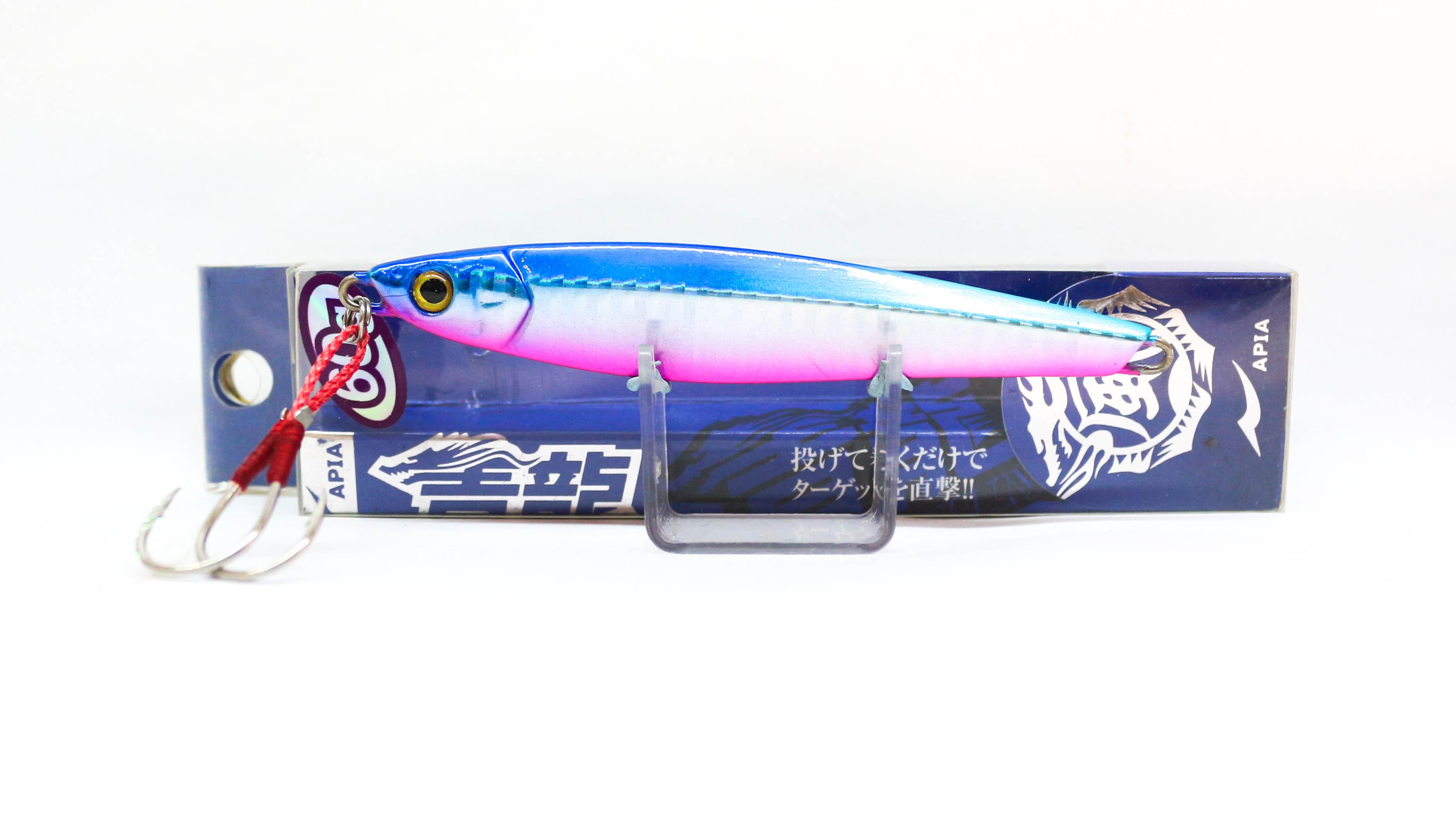 Sale Apia Metal Jig Seiryu Premium 60 Grams Sinking Lure 07 (4117)