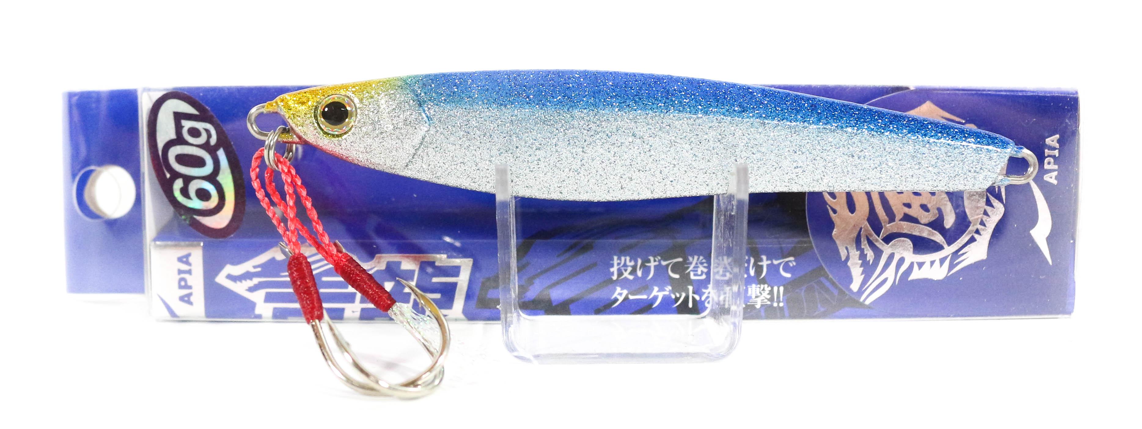 Sale Apia Metal Jig Seiryu Premium 60 grams 42 (8672)