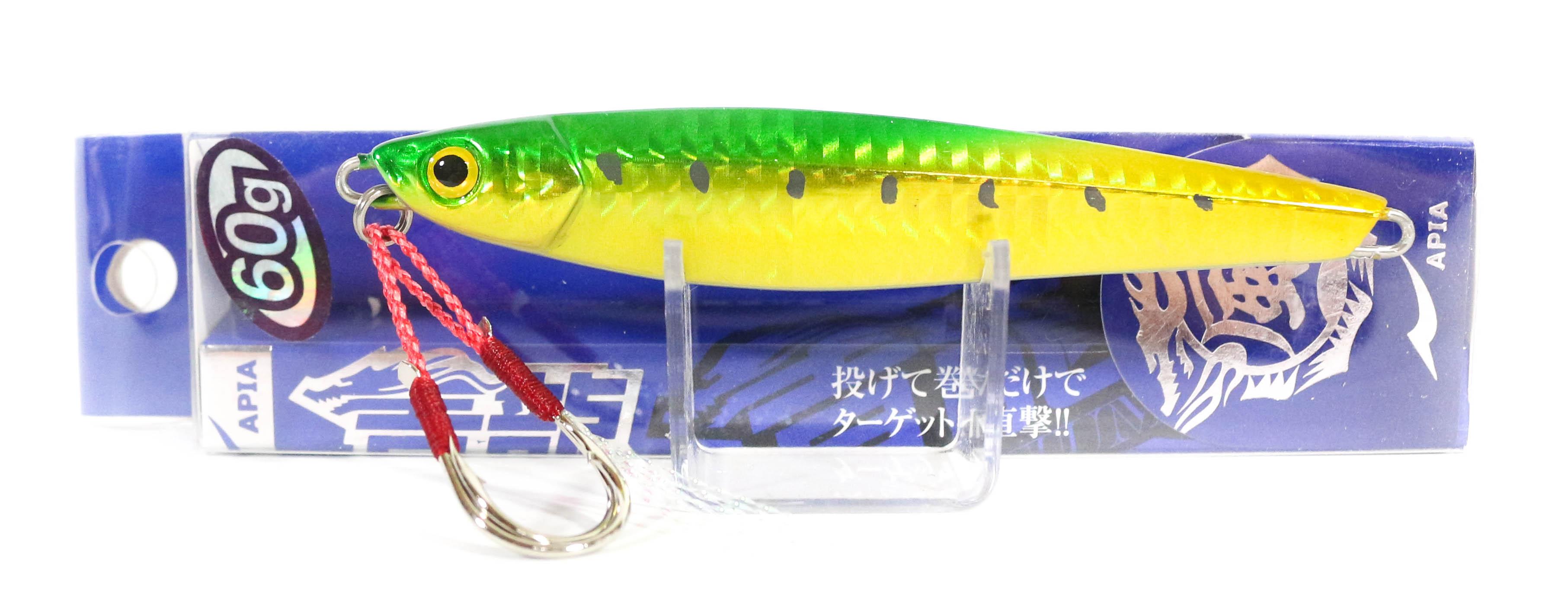 Sale Apia Metal Jig Seiryu Premium 60 grams 48 (8733)