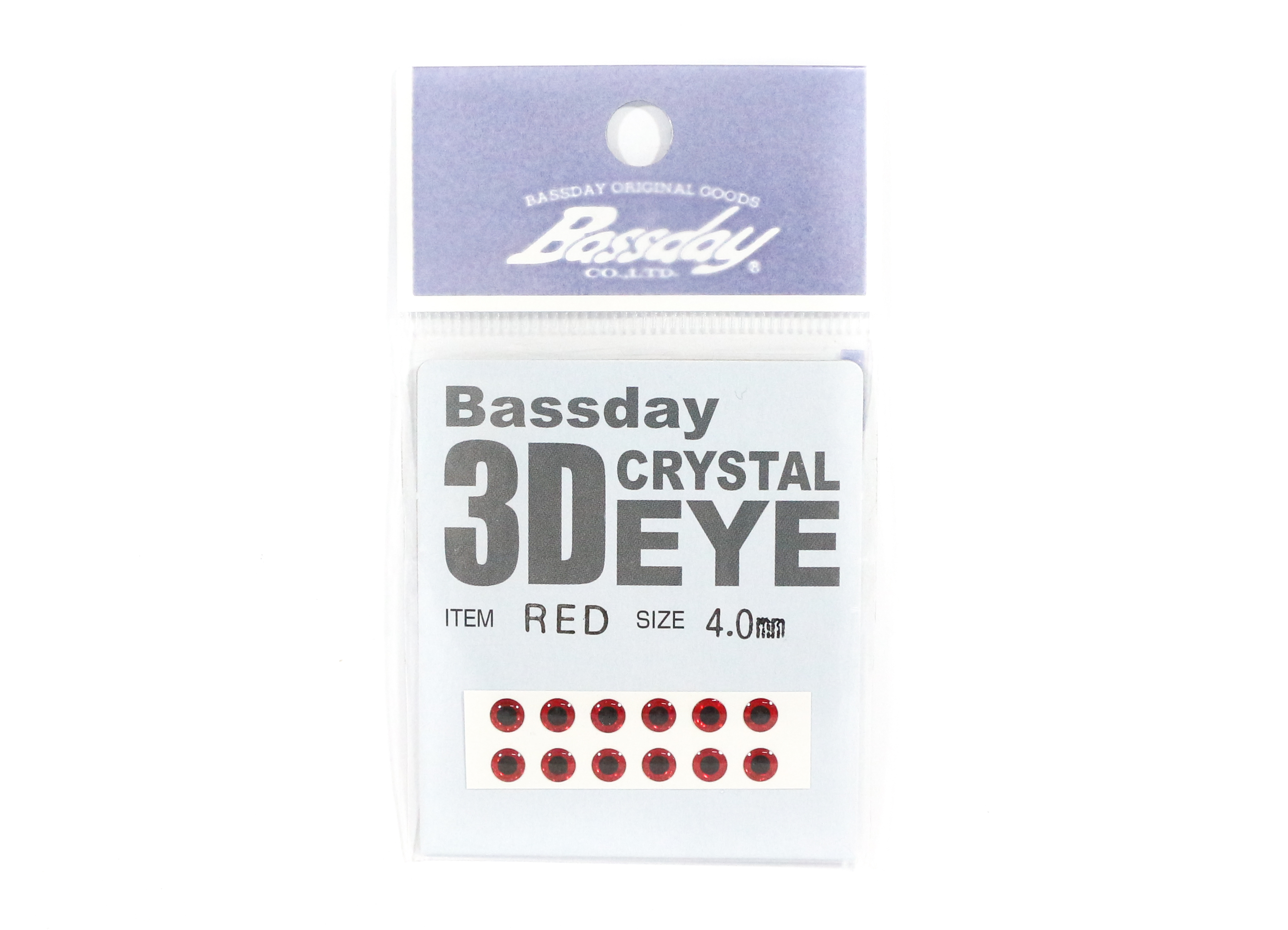 Bassday Live Eye Accessory Diameter 4mm Red (8023)