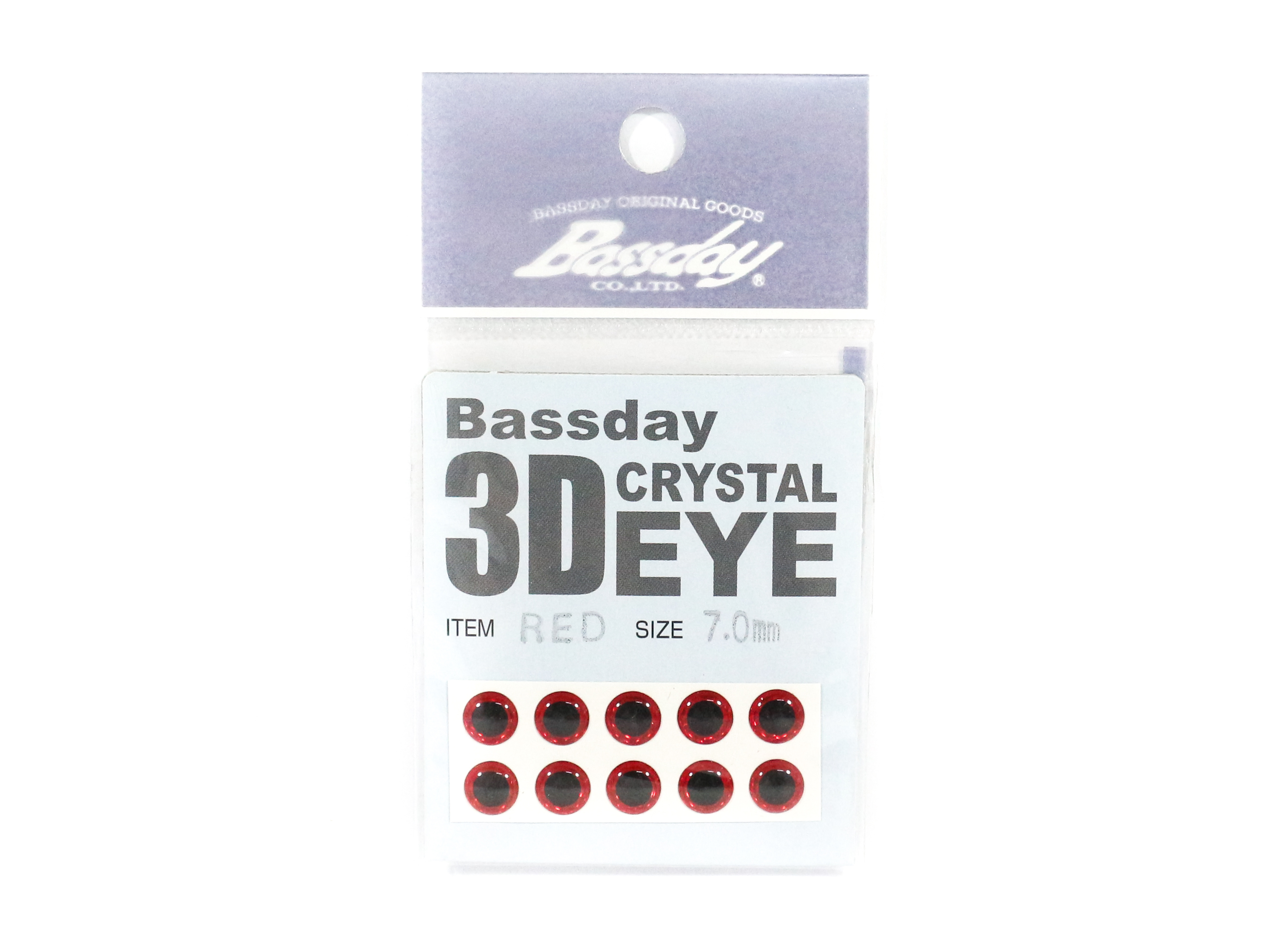 Bassday Live Eye Accessory Diameter 7mm Red (8115)