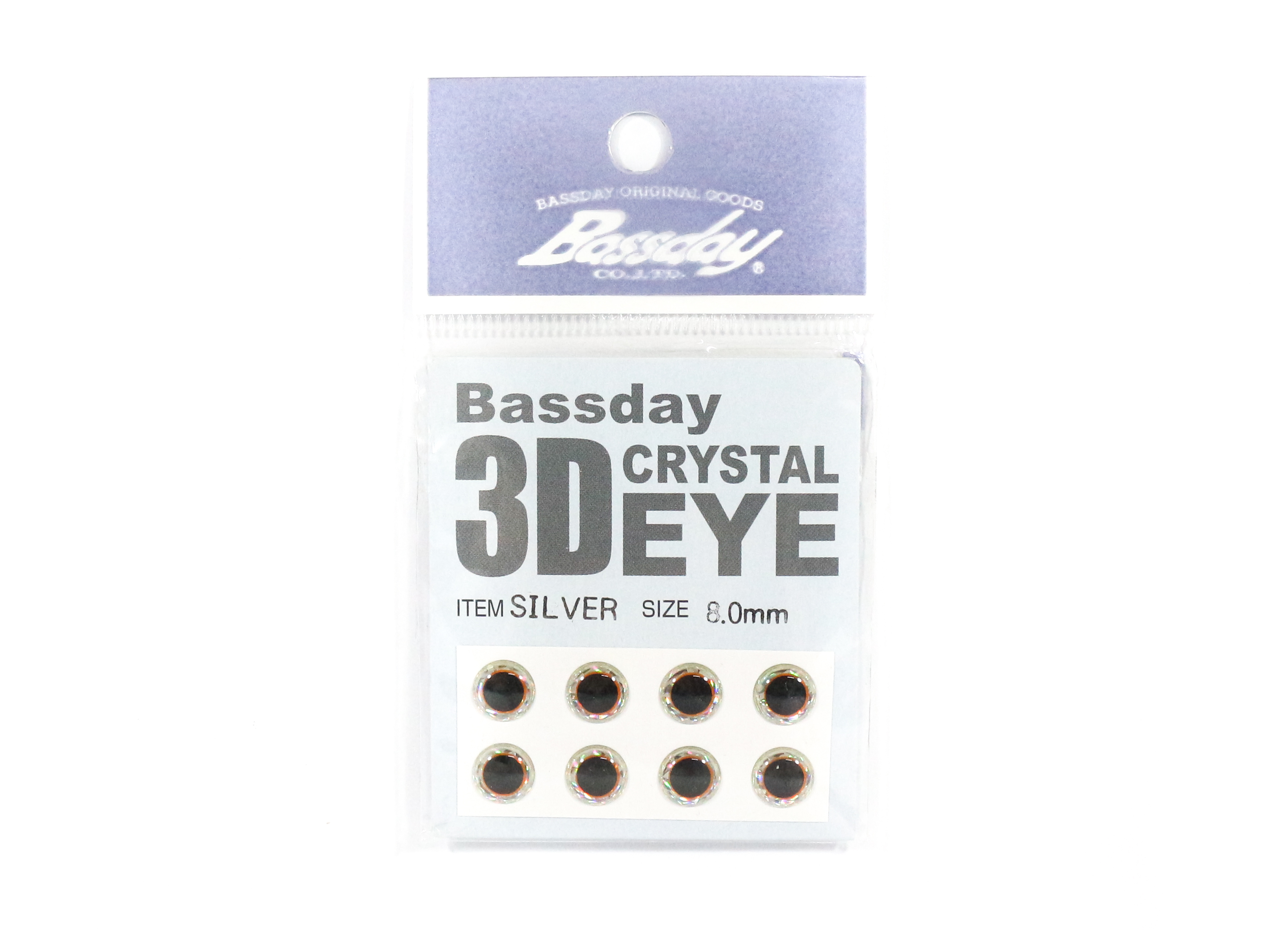 Bassday Live Eye Accessory Diameter 8mm Silver (8177)