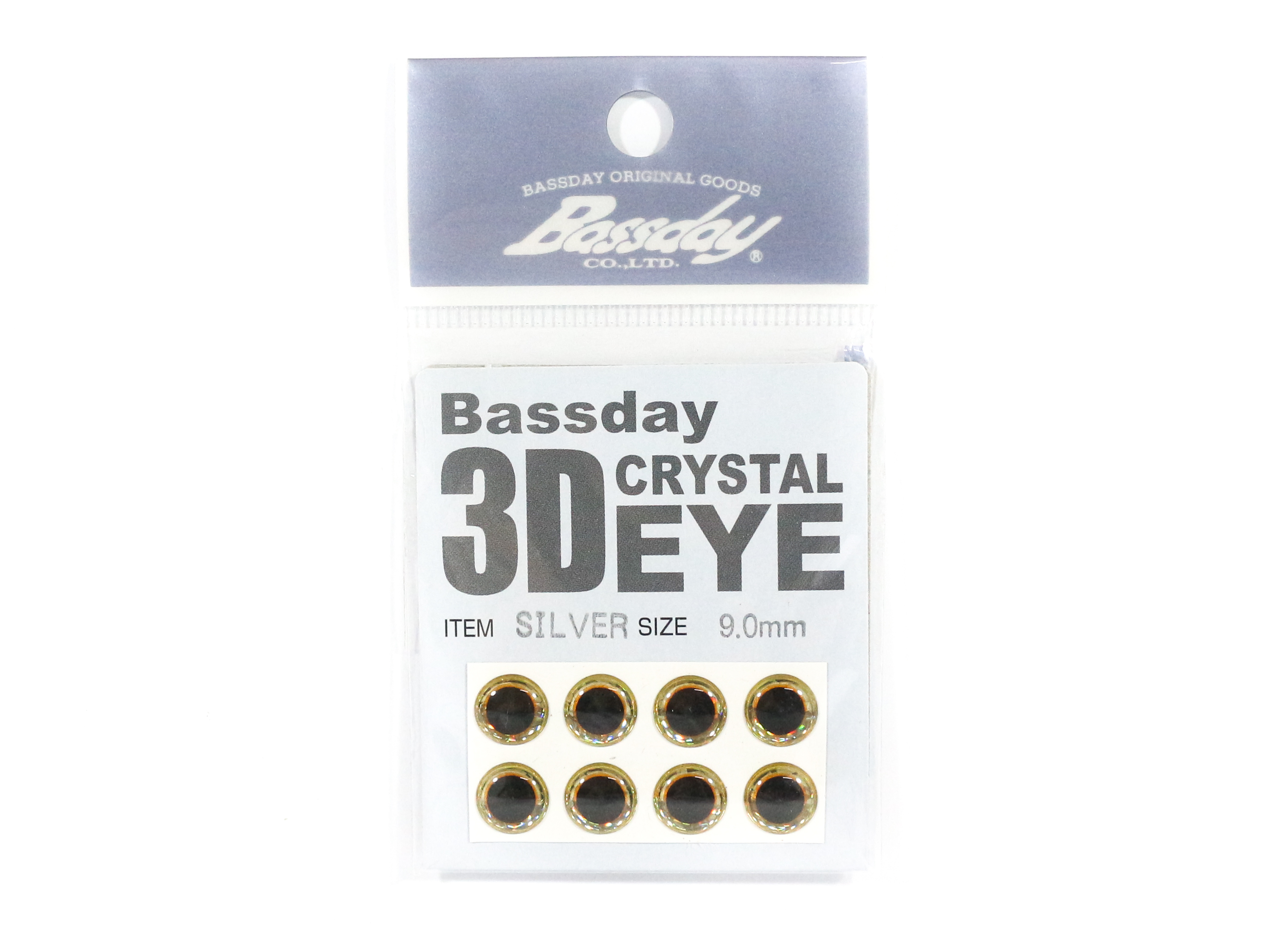 Bassday Live Eye Accessory Diameter 9mm Silver (8184)
