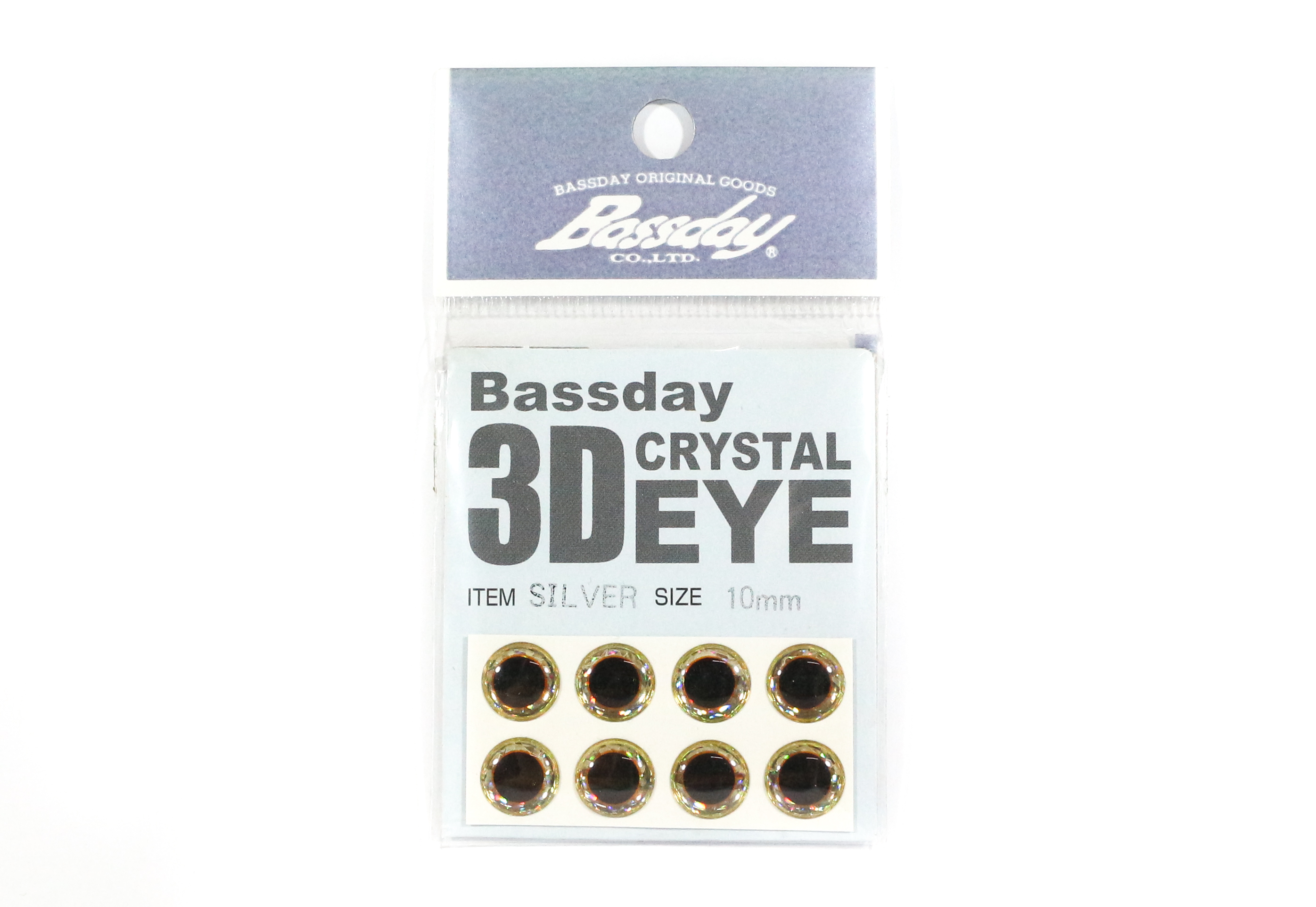 Bassday Live Eye Accessory Diameter 10mm Silver (8191)