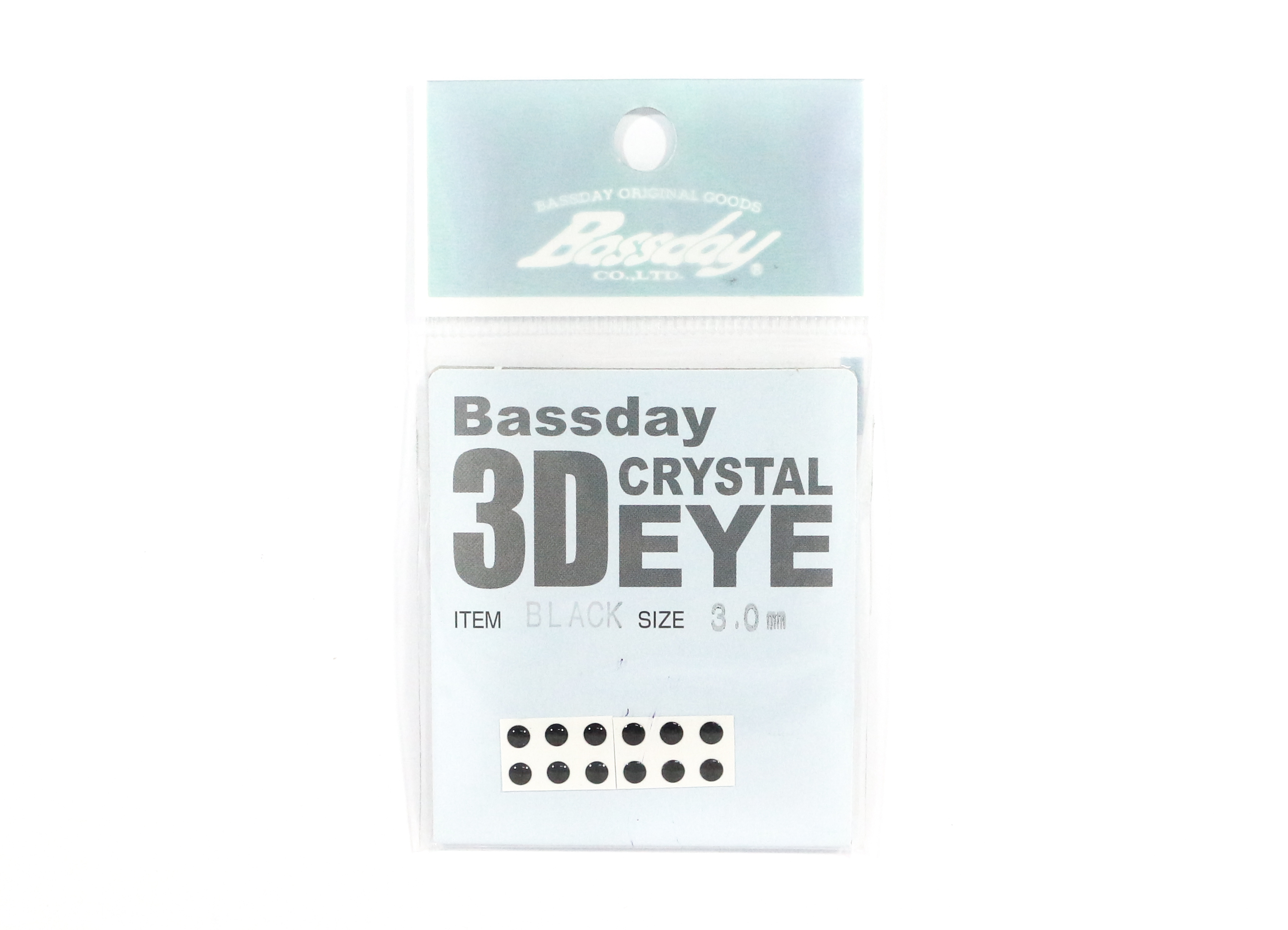 Bassday Live Eye Accessory Diameter 3mm Black (8221)